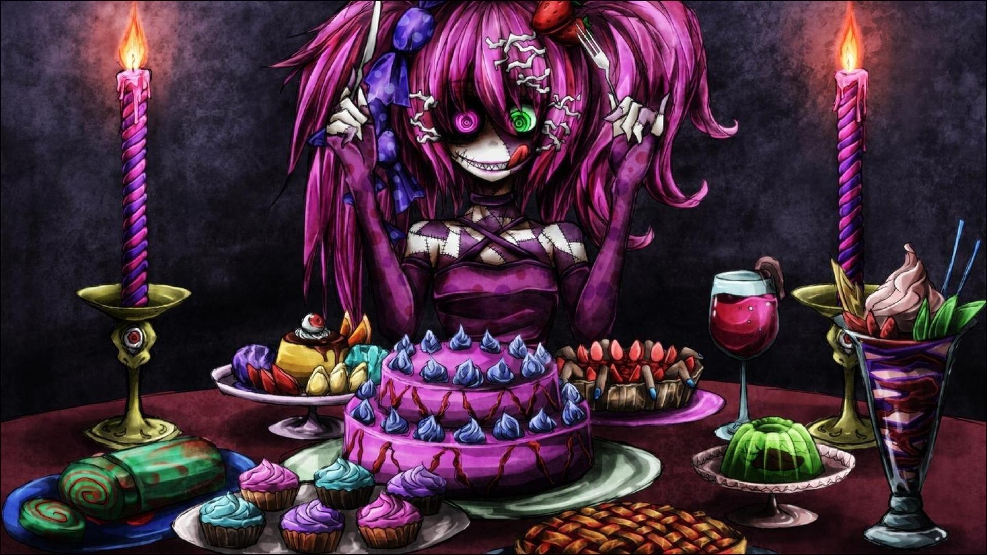 Halloween Anime Wallpaper 64 Pictures