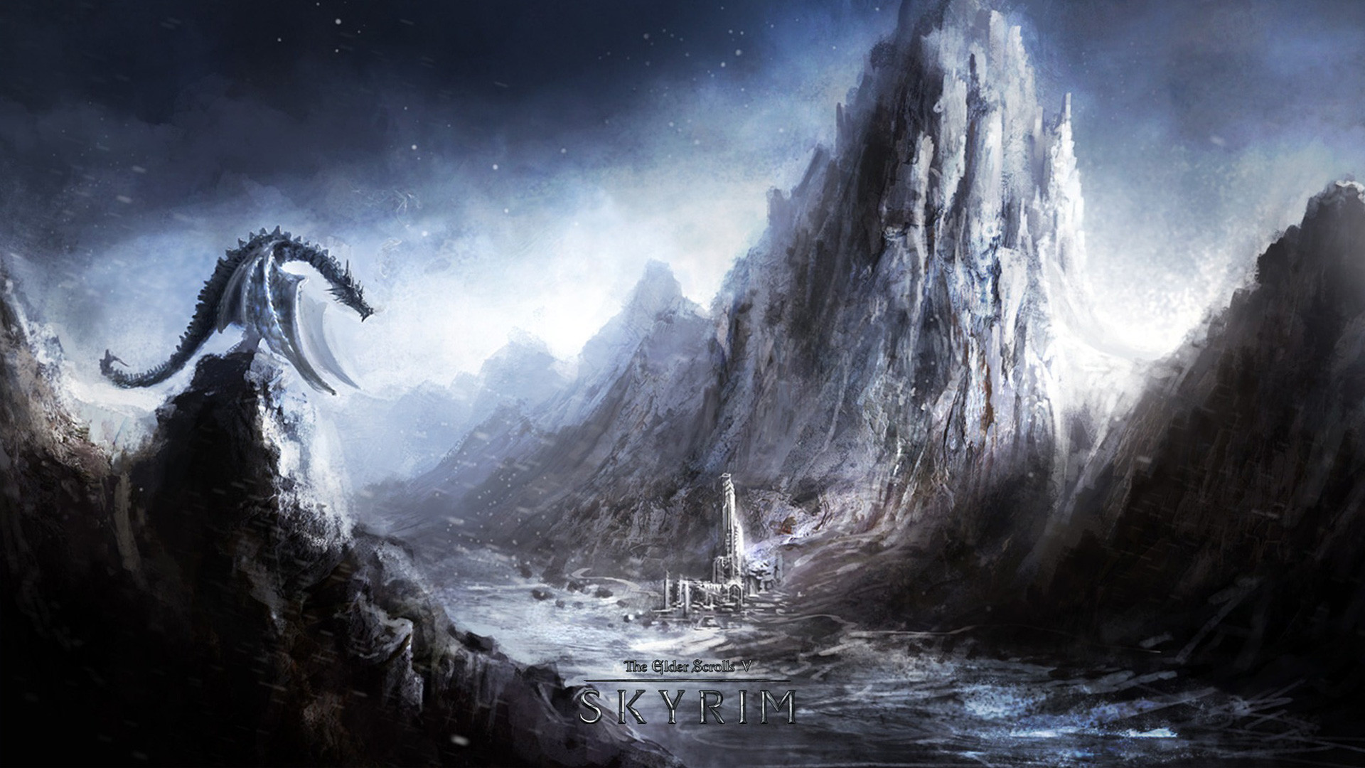 Skyrim Paarthurnax Wallpaper 84 Pictures