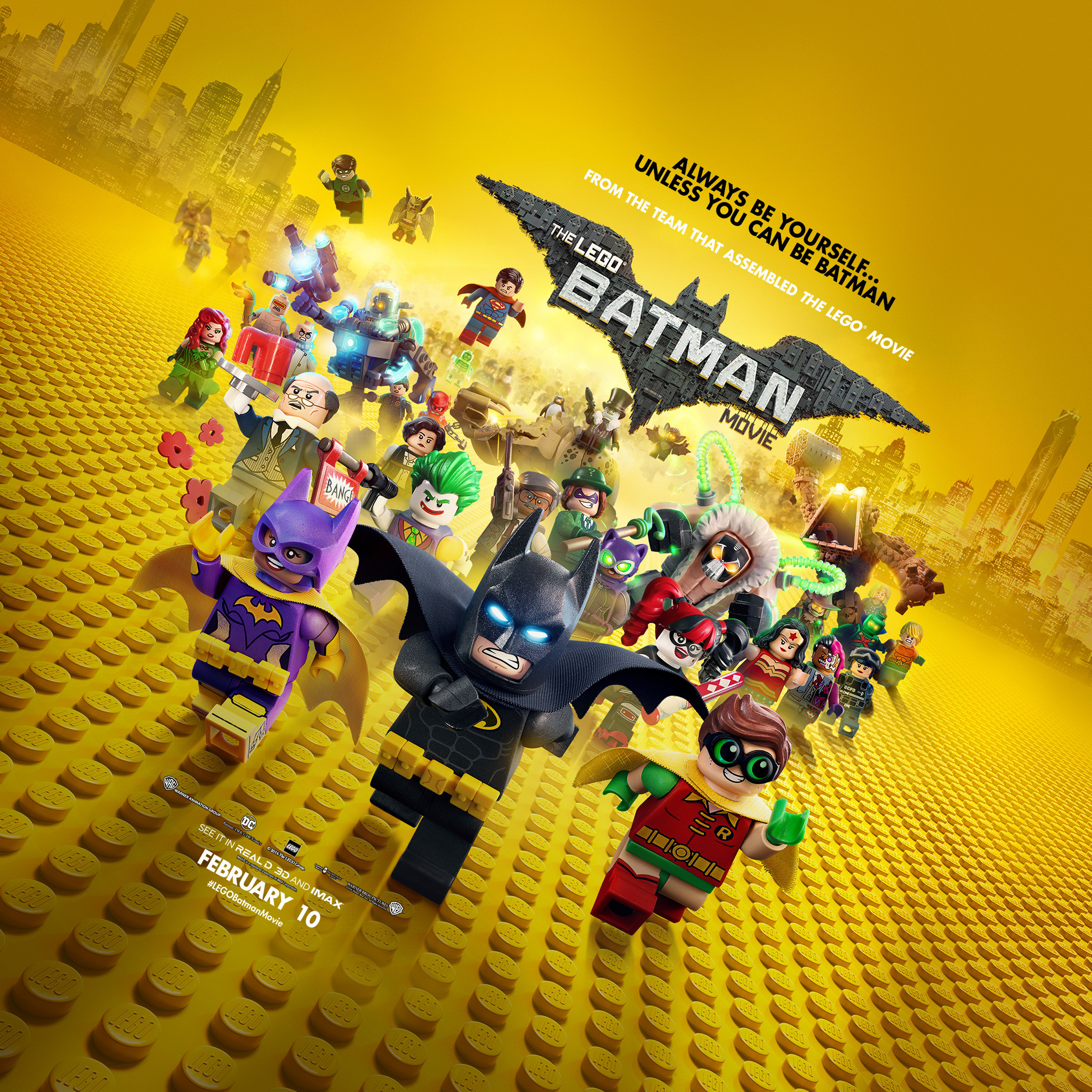 The Lego Batman Movie Wallpapers 80 Pictures