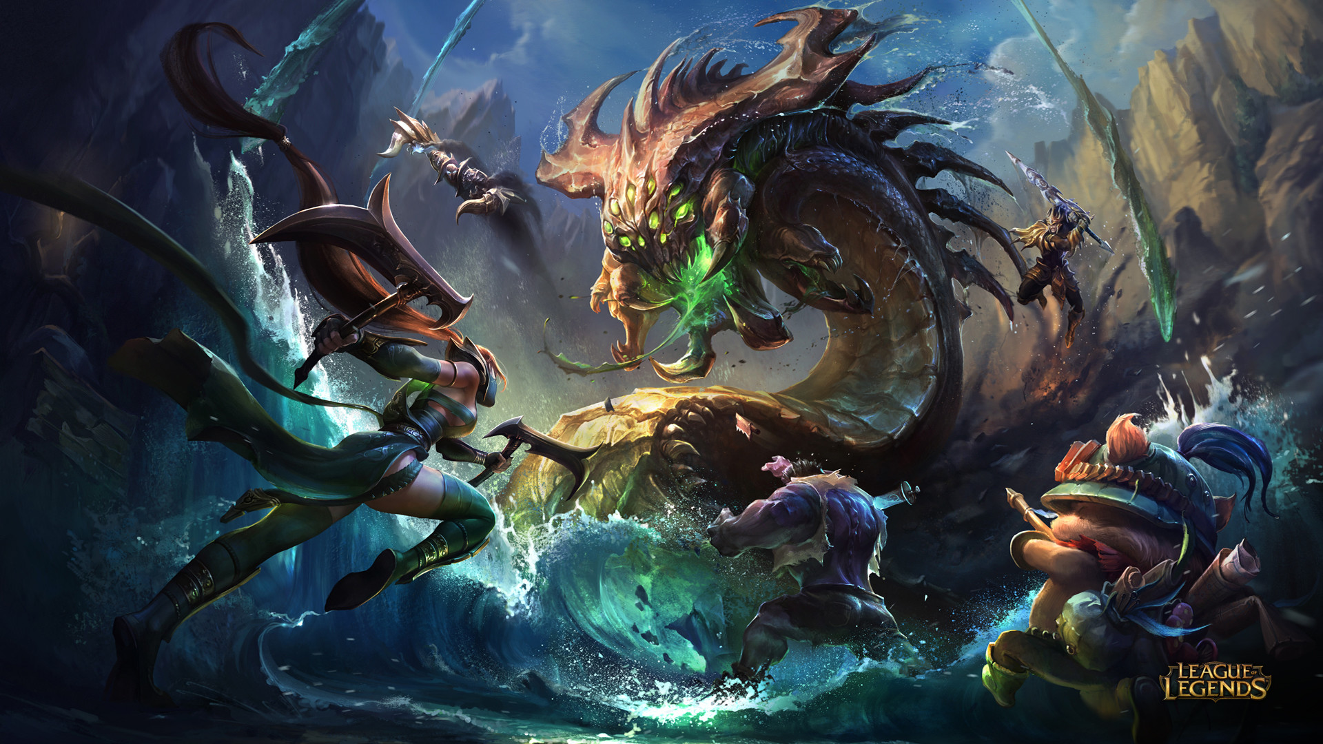 League Of Legends Backgrounds 84 Pictures
