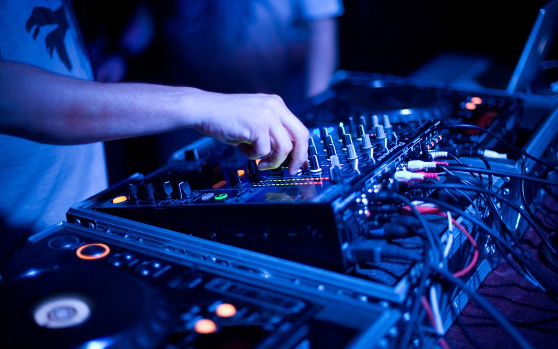 1920x1200 DJ Lights Wallpaper HD