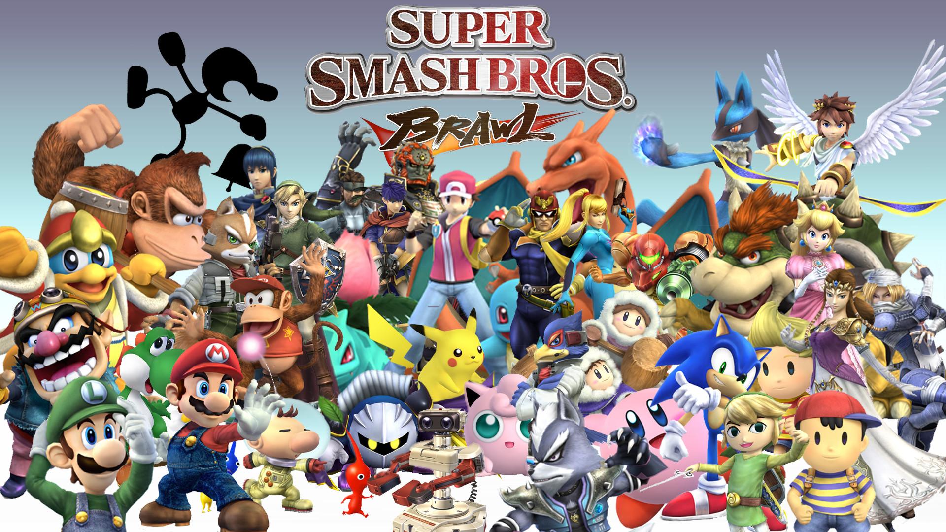 Super Smash Bros Wallpaper 74 Pictures