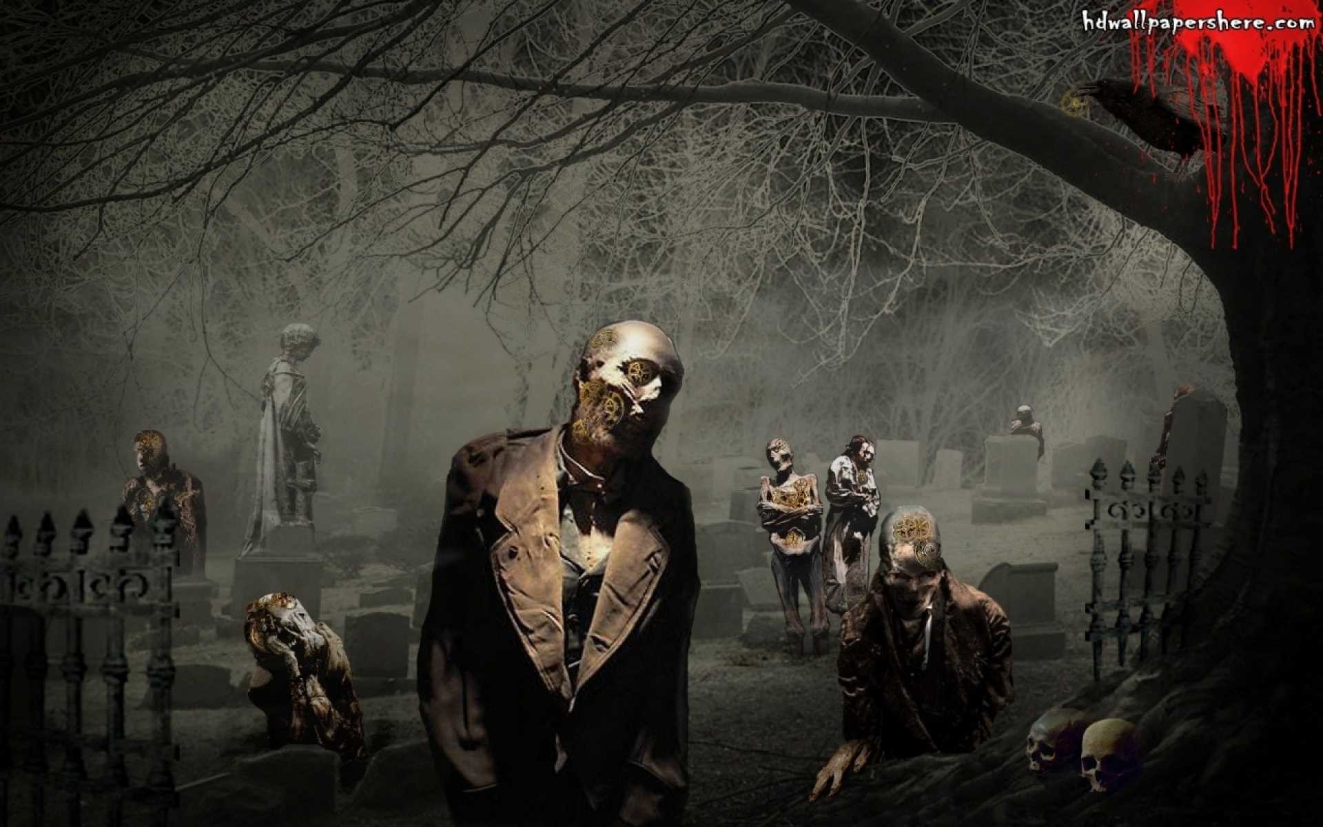 Scary Zombie Wallpaper 69 Pictures