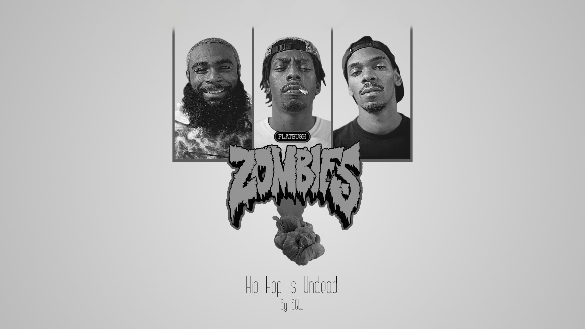 1920x1080 JoakimRiise 0 FlatBush Zombies GrayScale Wallpaper By