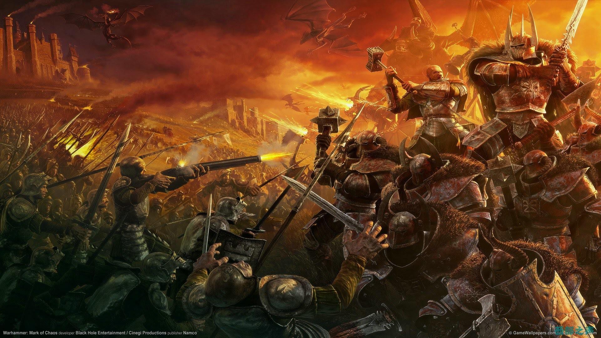 Total War Warhammer wallpaper × Total War Warhammer