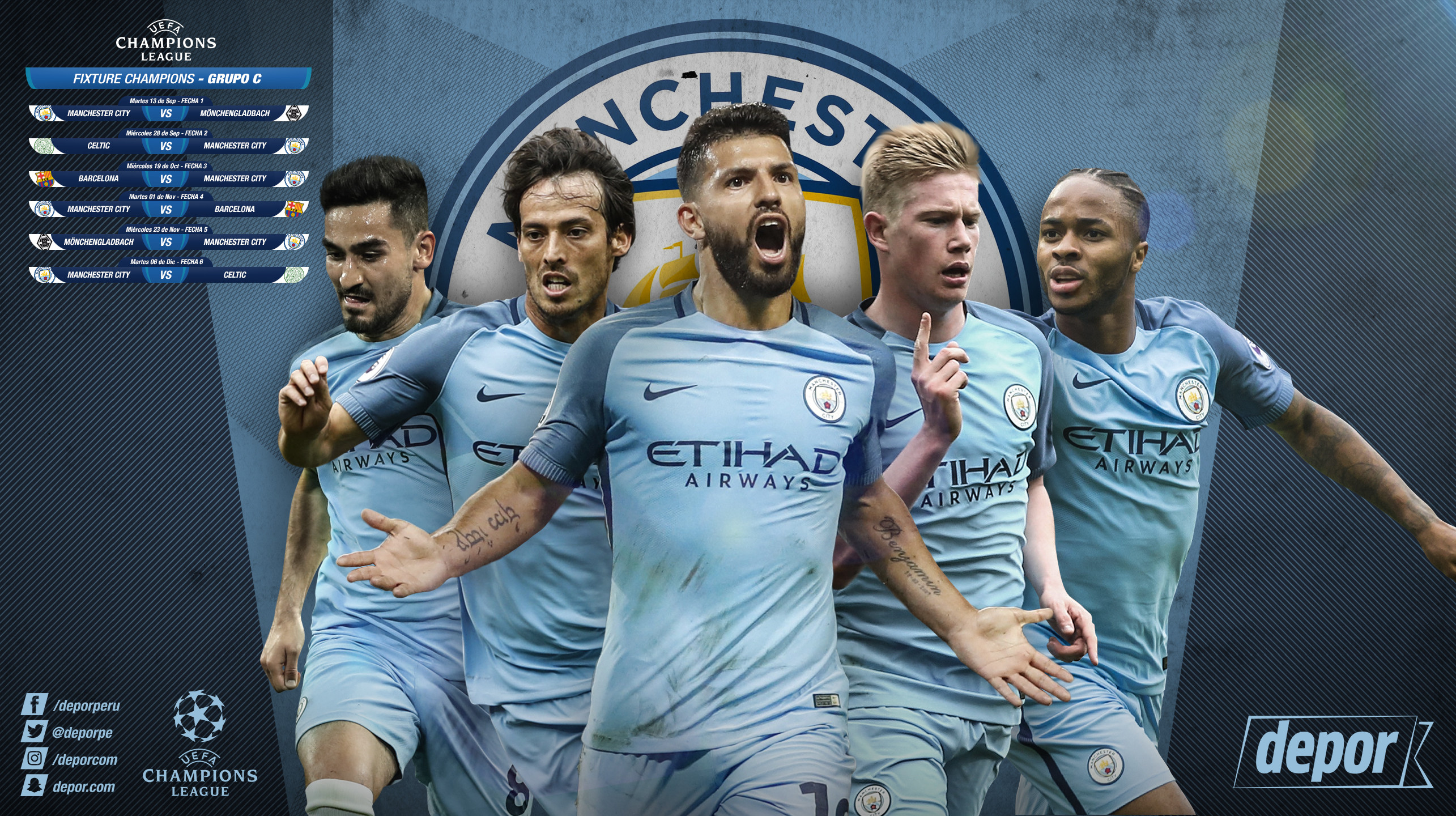 Manchester City Fc Wallpaper: Manchester City Wallpaper 2018 (72+ Pictures