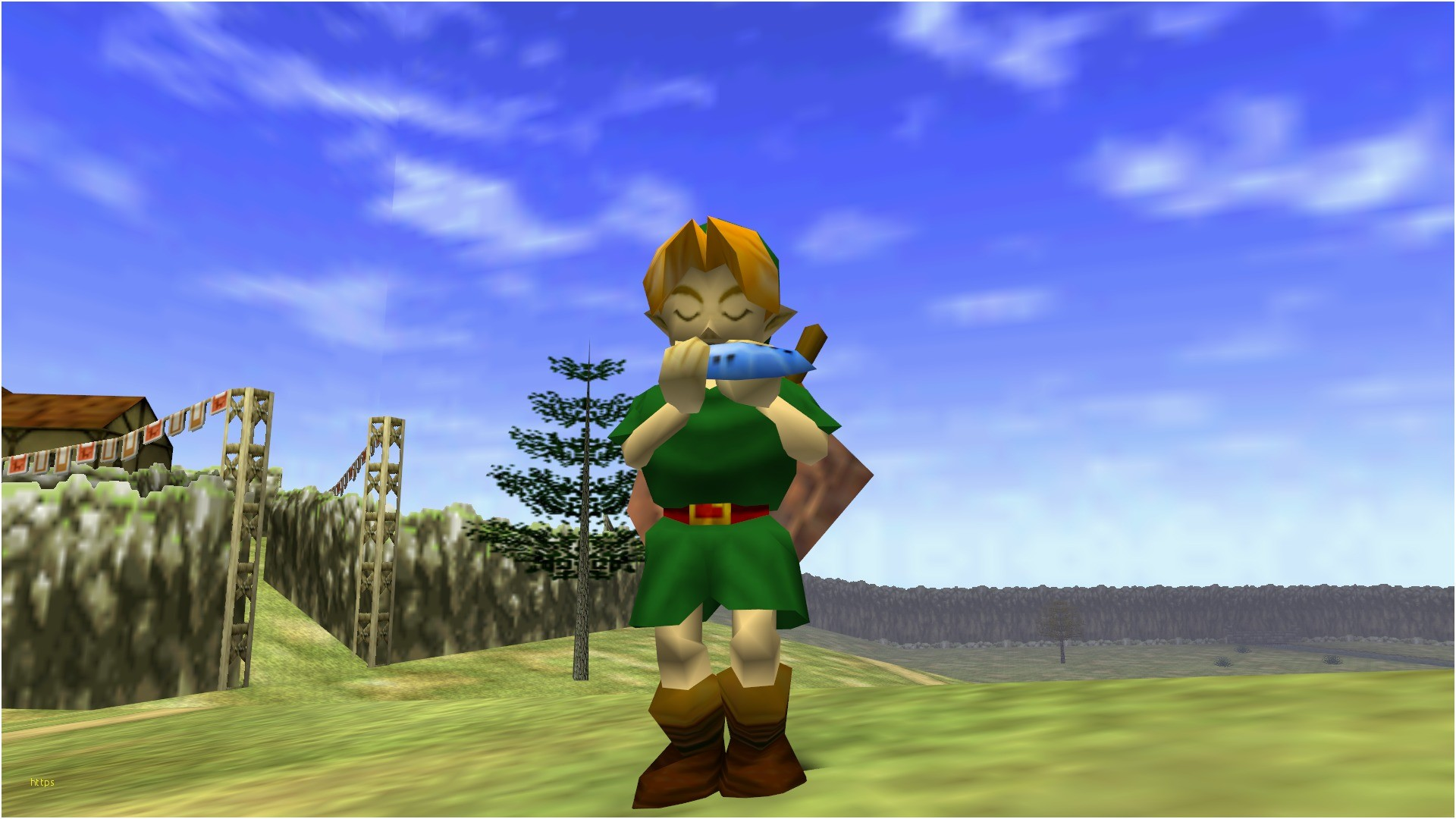 The Legend Of Zelda Ocarina Of Time Wallpapers 69 Pictures