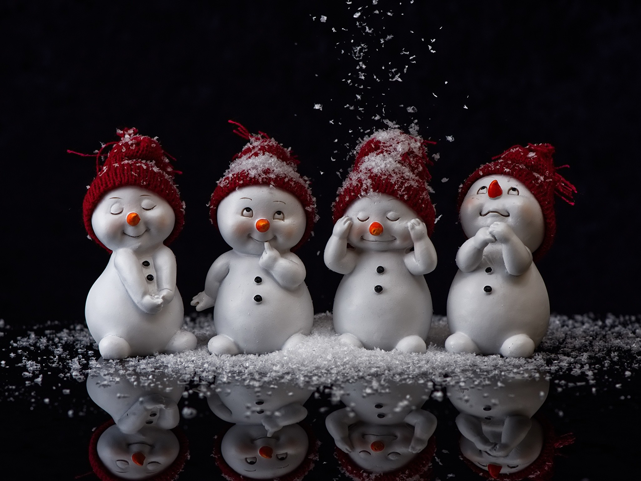 Snowman Background 41 Pictures