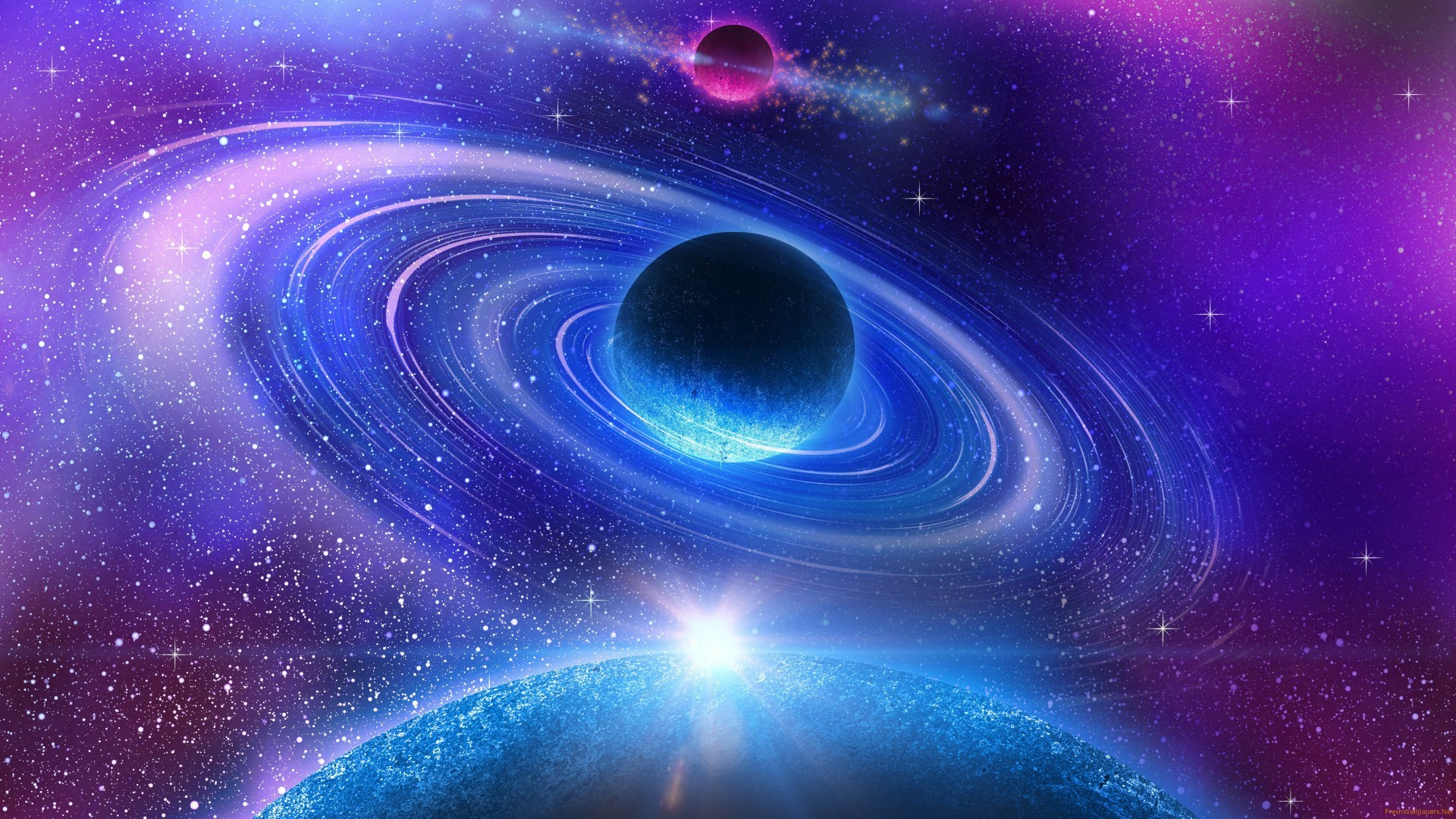 3D Space Wallpapers (69+ pictures)