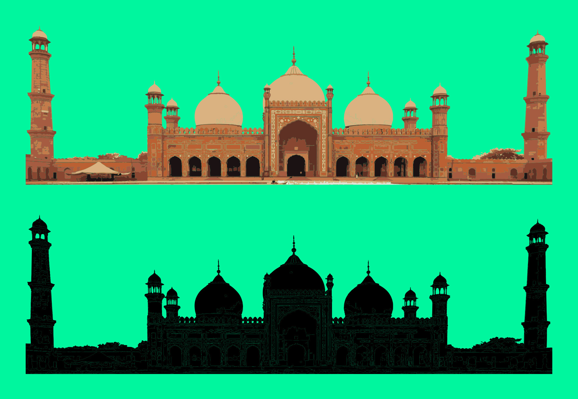 Wallpaper Mosque (60+ pictures)
