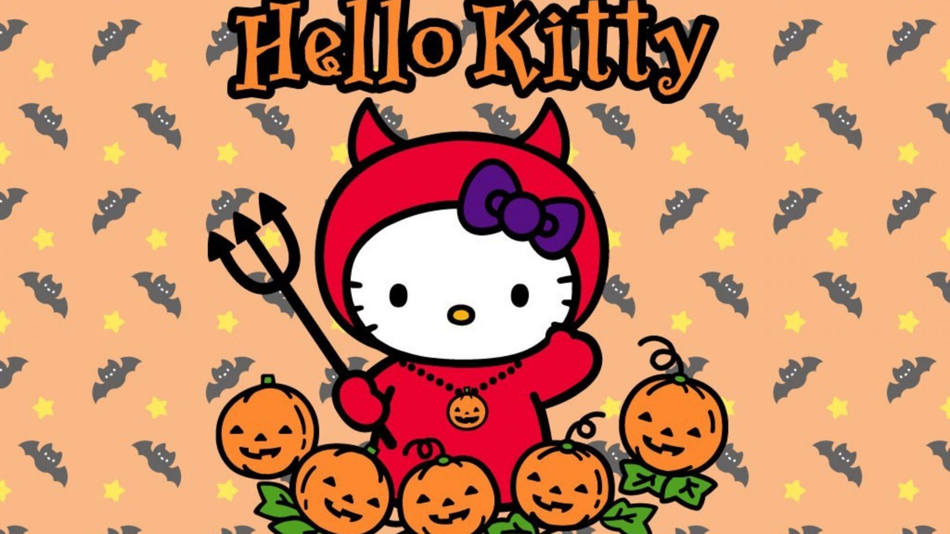 Hello Kitty Halloween Backgrounds (67+ pictures)