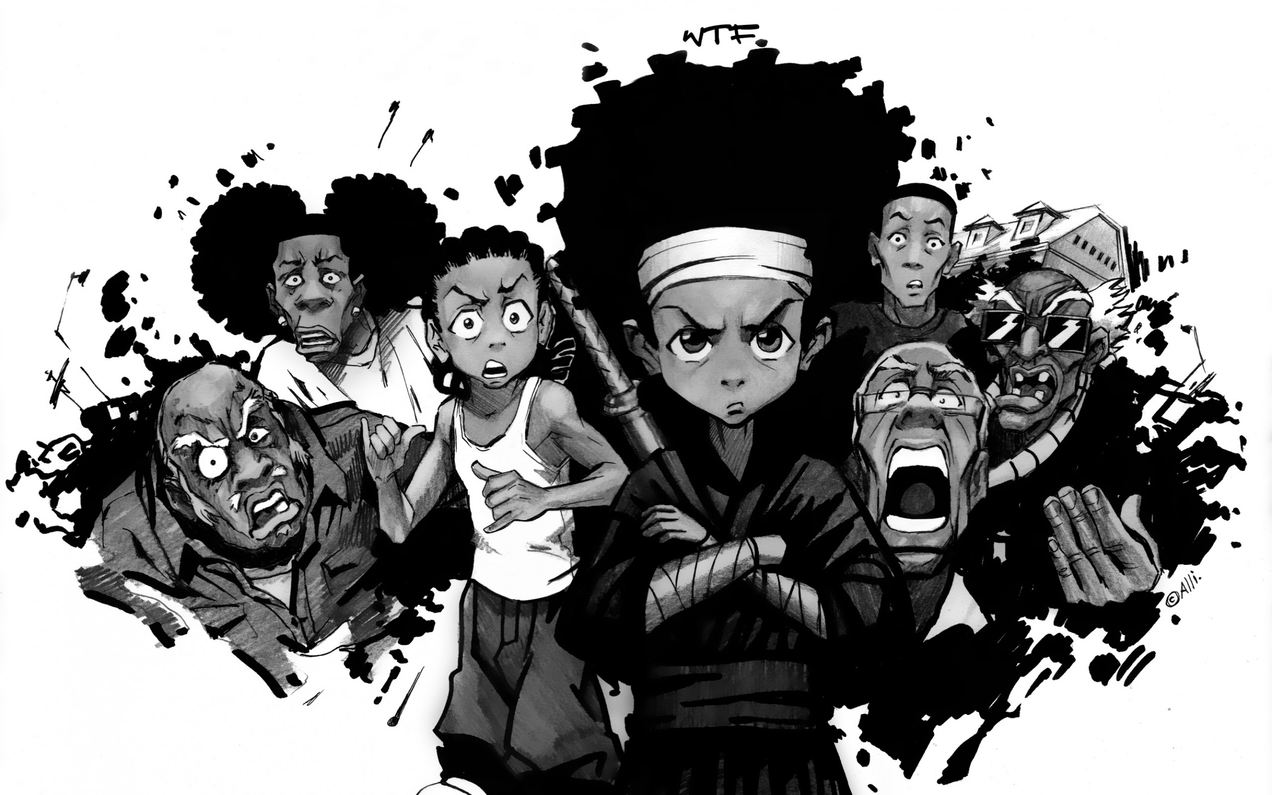 The Boondocks Wallpapers 57 Pictures