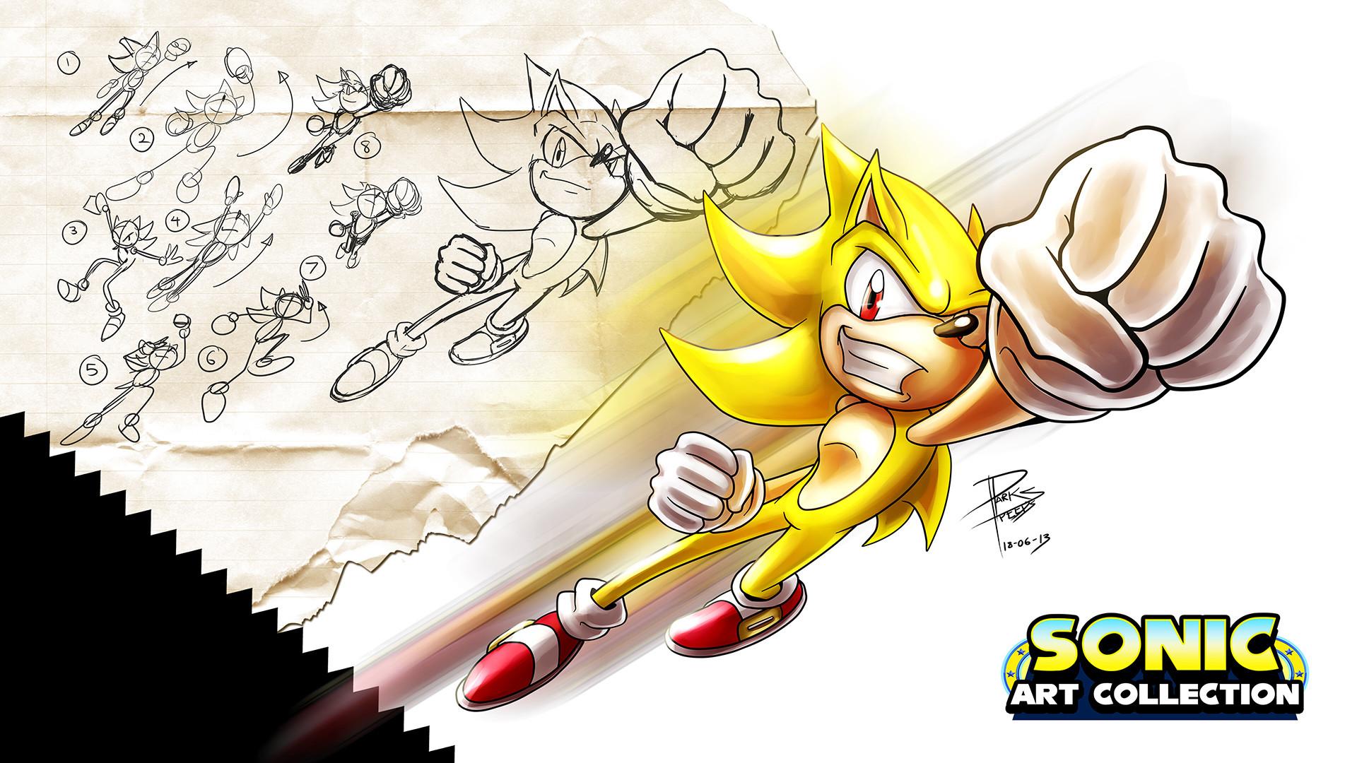 Super Sonic Generations Wallpaper 2048x1152