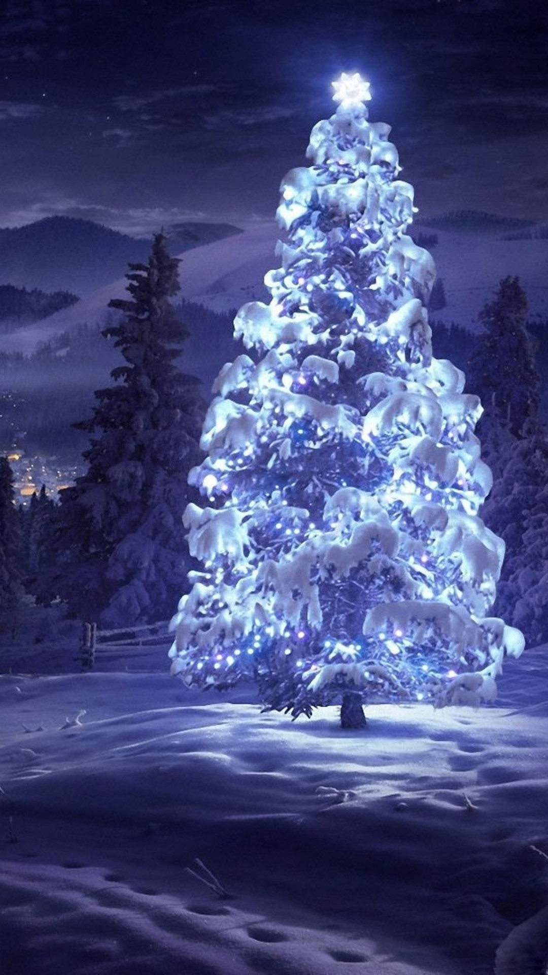 Christmas Tree Wallpaper 72 Pictures
