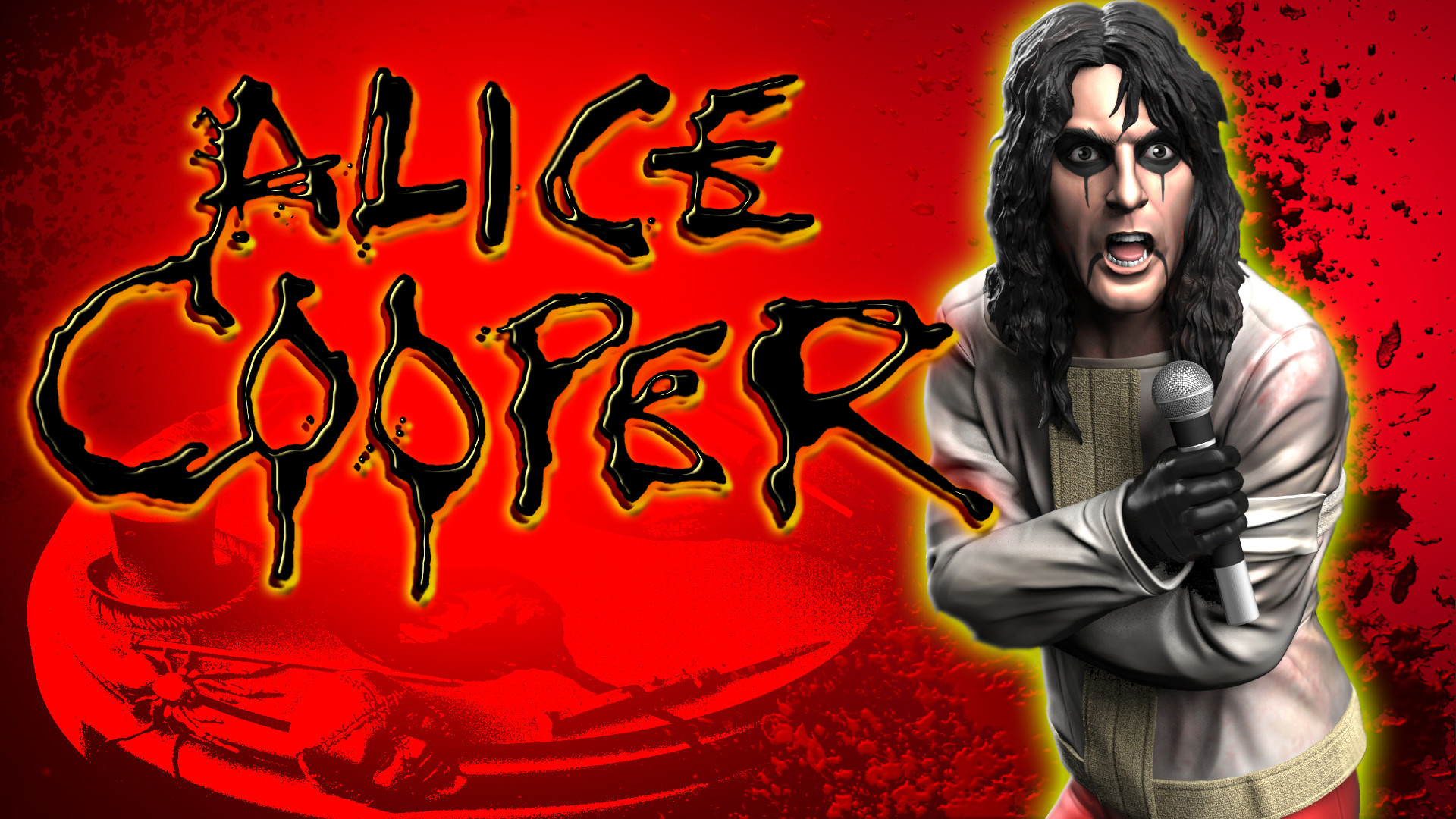 Alice Cooper Welcome My Nightmare Photo Background Wallpapers