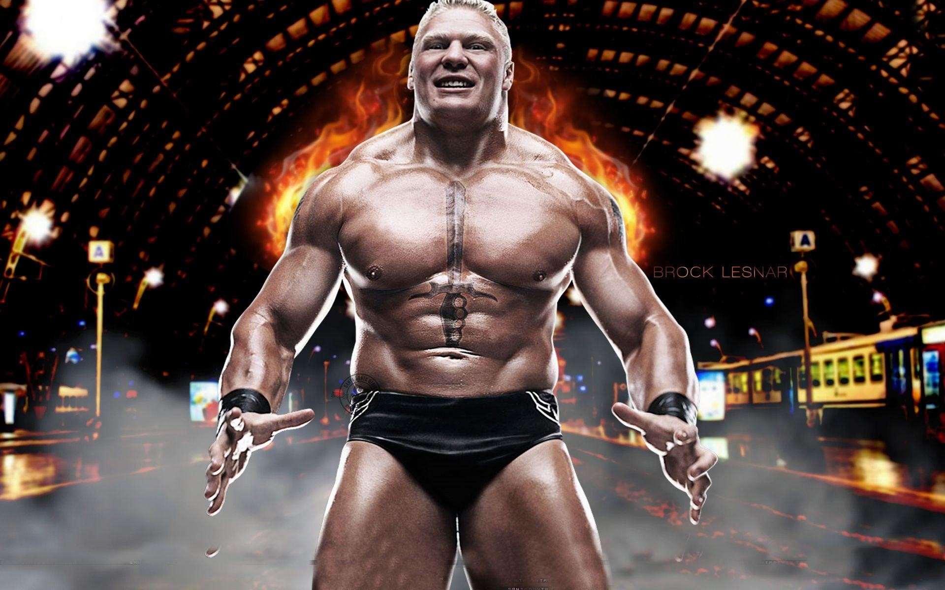1920x1200 Brock Lesnar WWE 2016 Wallpapers 1024x768