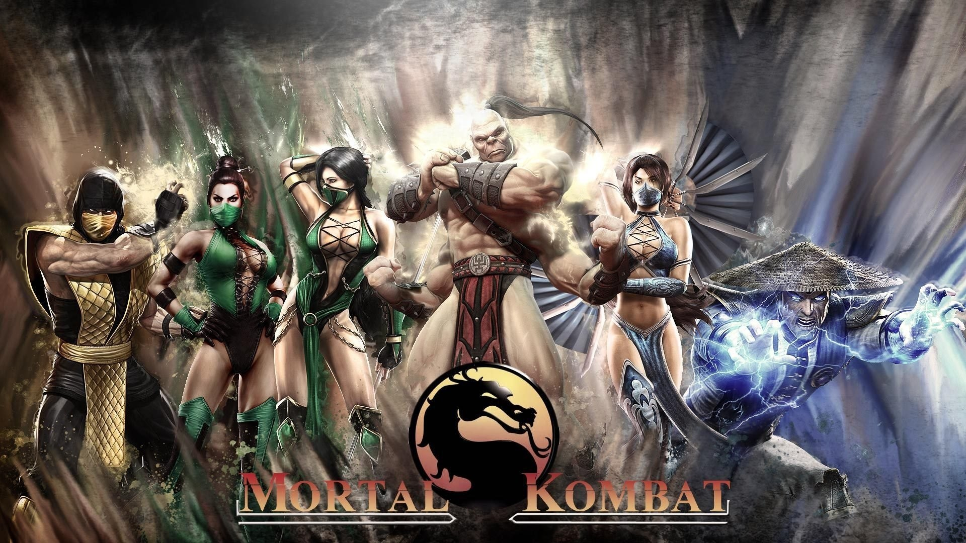 mortal kombat 11 all characters wallpaper