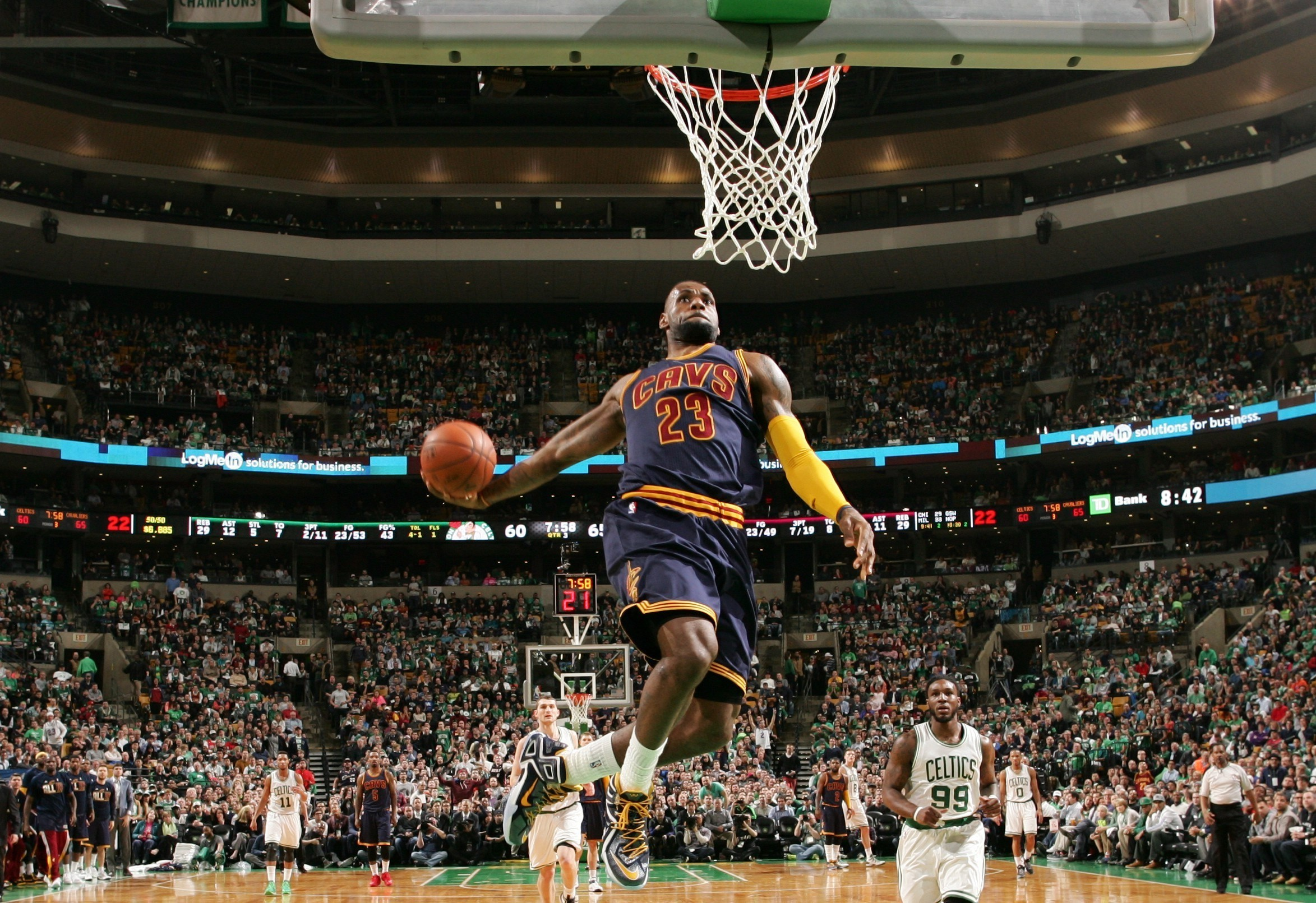 Lebron Dunk Wallpaper 2018 76 Pictures