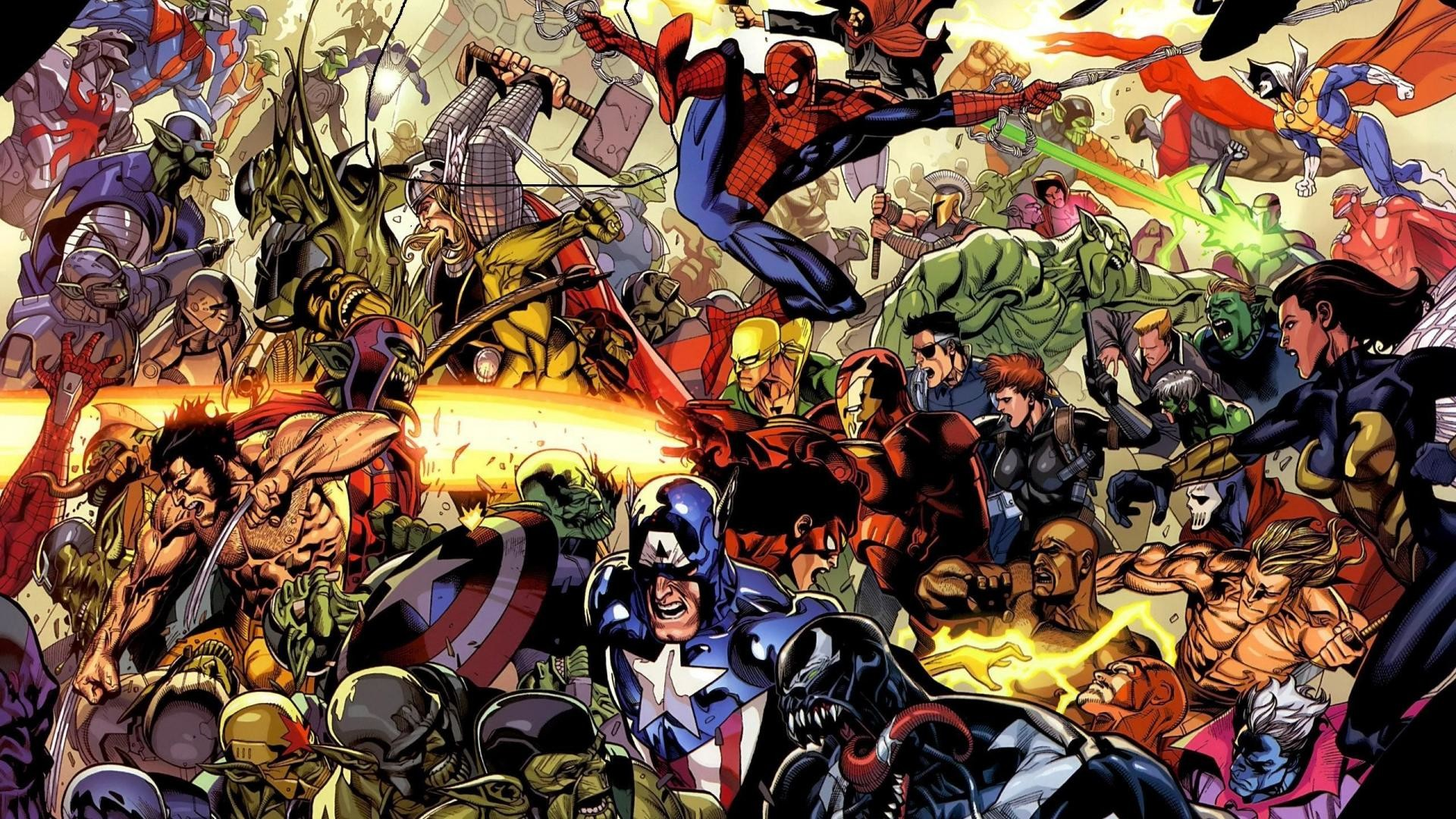 Marvel heroes wallpapers 64 pictures marvel wallpapers voltagebd Choice Image
