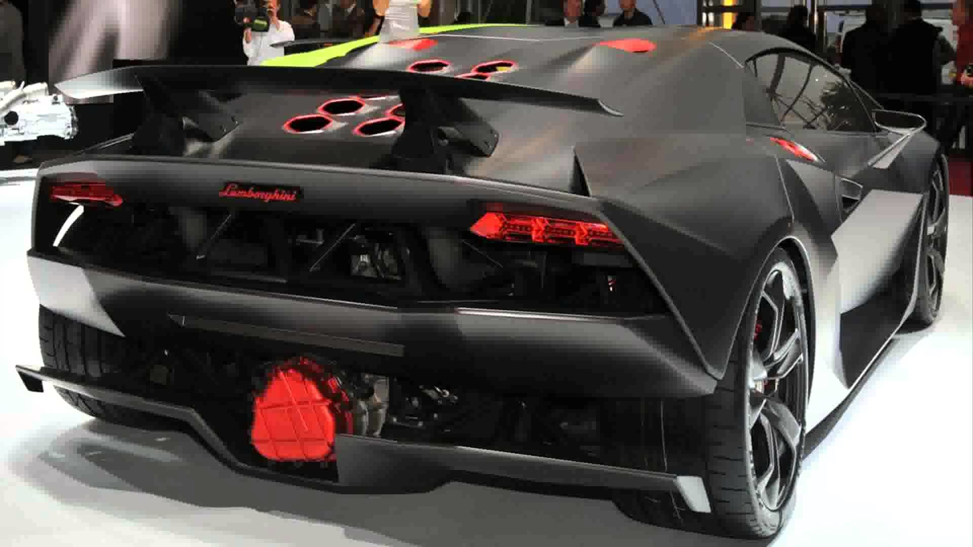 Lamborghini Sesto Elemento Side Crystal City Car 2014 .