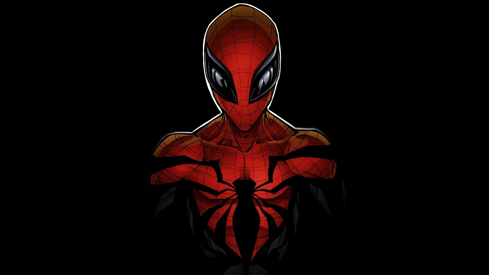 black spiderman hd wallpaper download best hd wallpaper