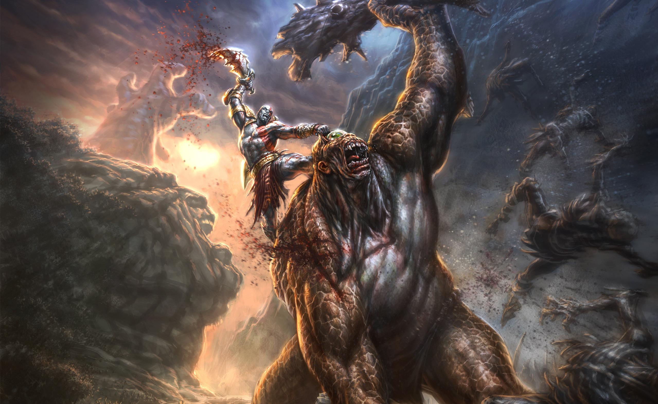 Kratos Wallpaper Hd 71 Pictures