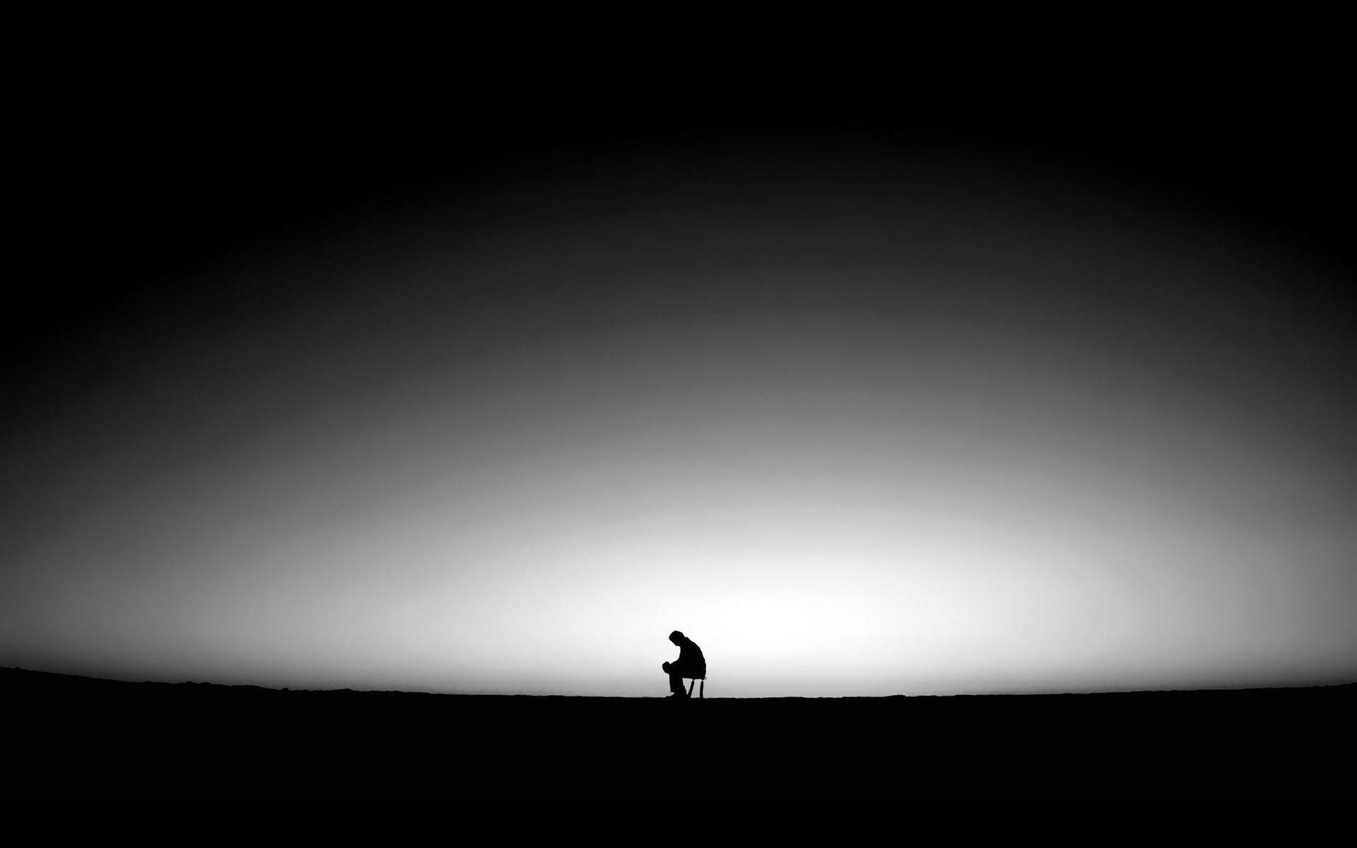 Lonely Sad Boy Wallpaper  vel