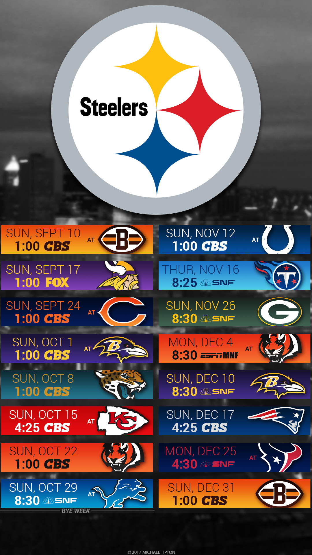 Simplicity image regarding pittsburgh steelers printable schedule