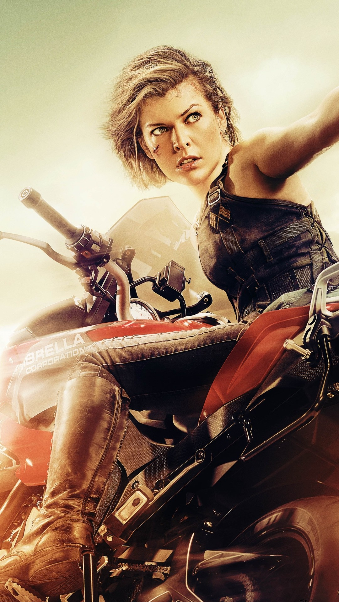 Resident evil the final chapter wallpapers 74 pictures - Milla jovovich 4k wallpaper ...