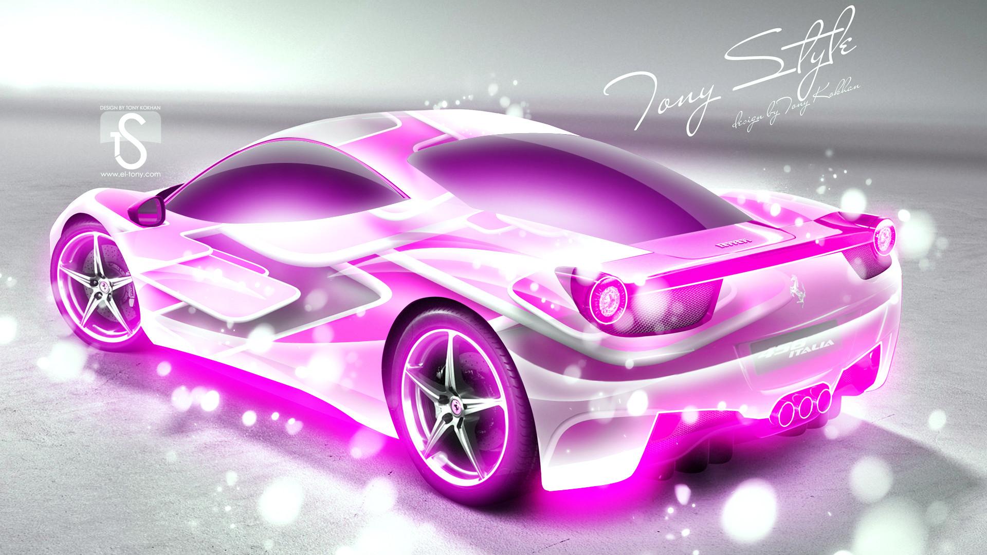 Pink Cars Wallpaper Hd For Desktop 70 Pictures