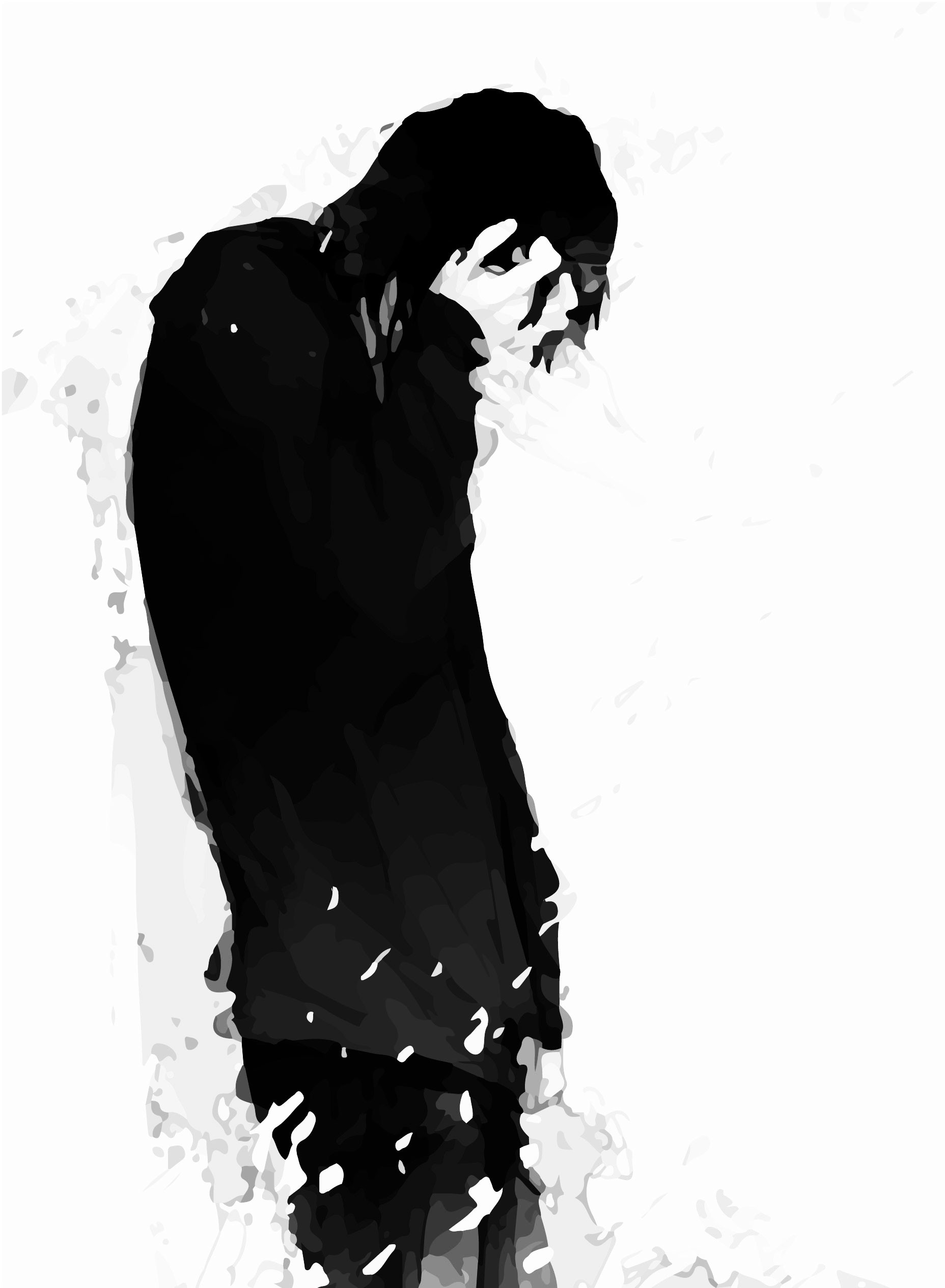 Sad Anime Faces Wallpapers 64 Pictures