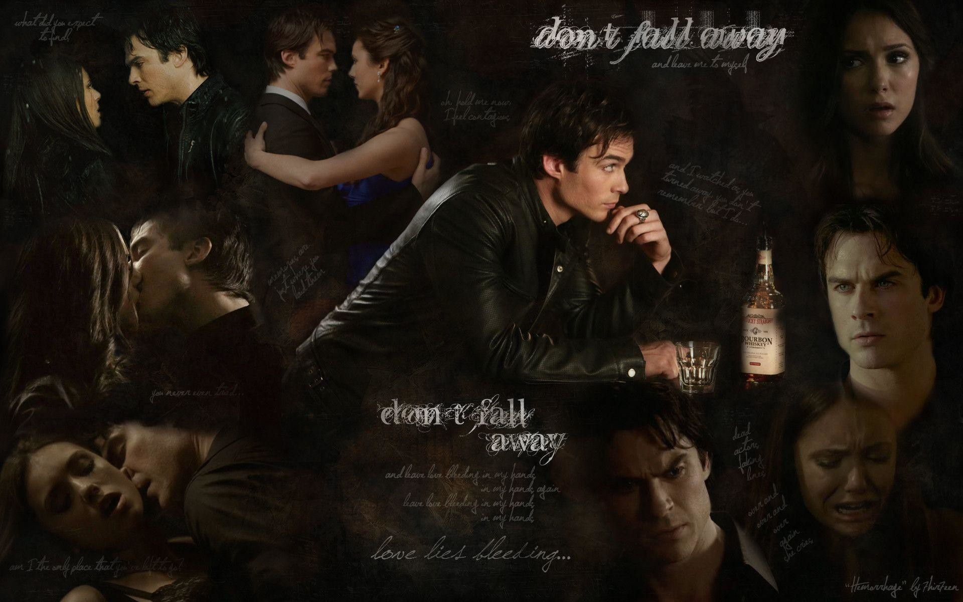 The Vampire Diaries Wallpaper Damon 80 Pictures