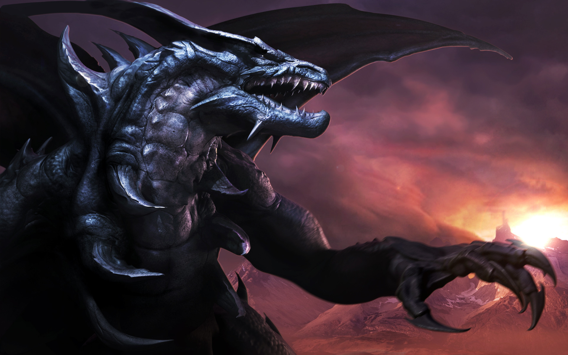 Black Rose Dragon Wallpaper 48 Pictures