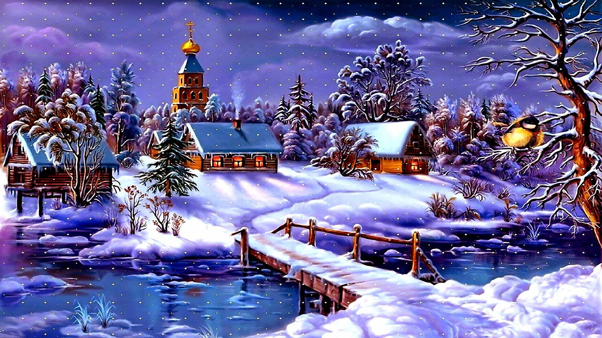 Christmas Village Wallpaper (55+ pictures)