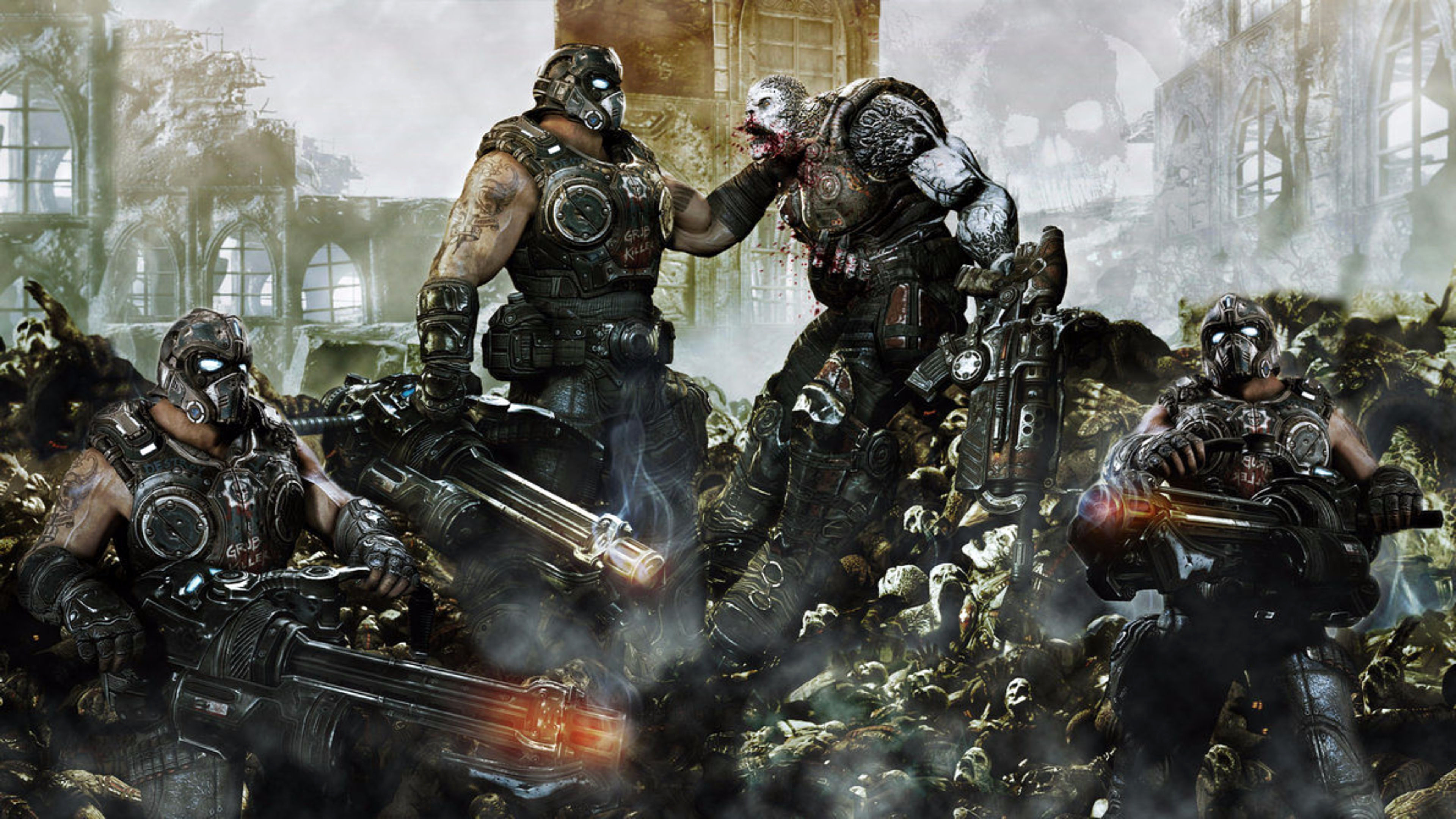 Gears Of War Backgrounds 82 Pictures