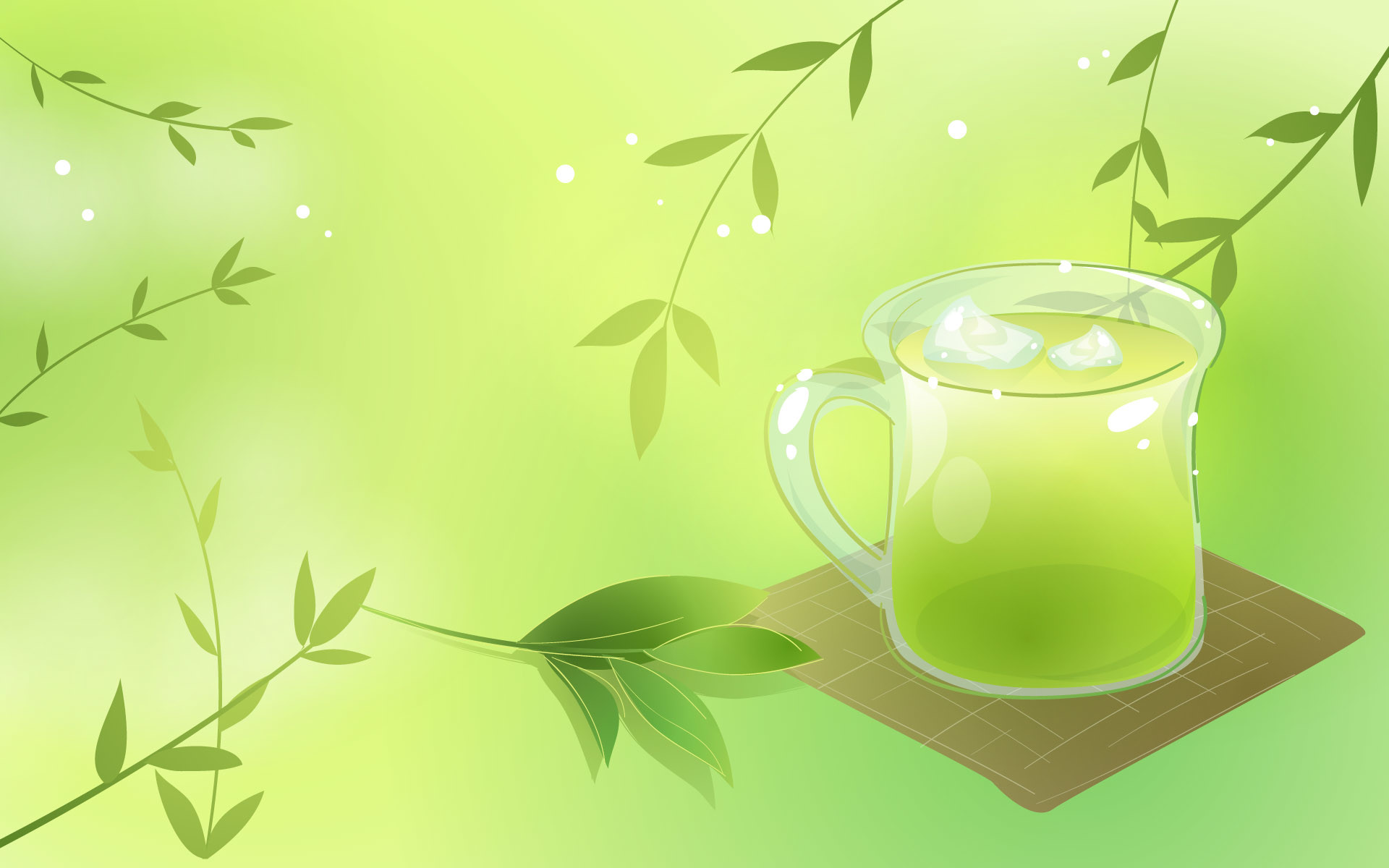 Green Tea Wallpaper 63 Pictures