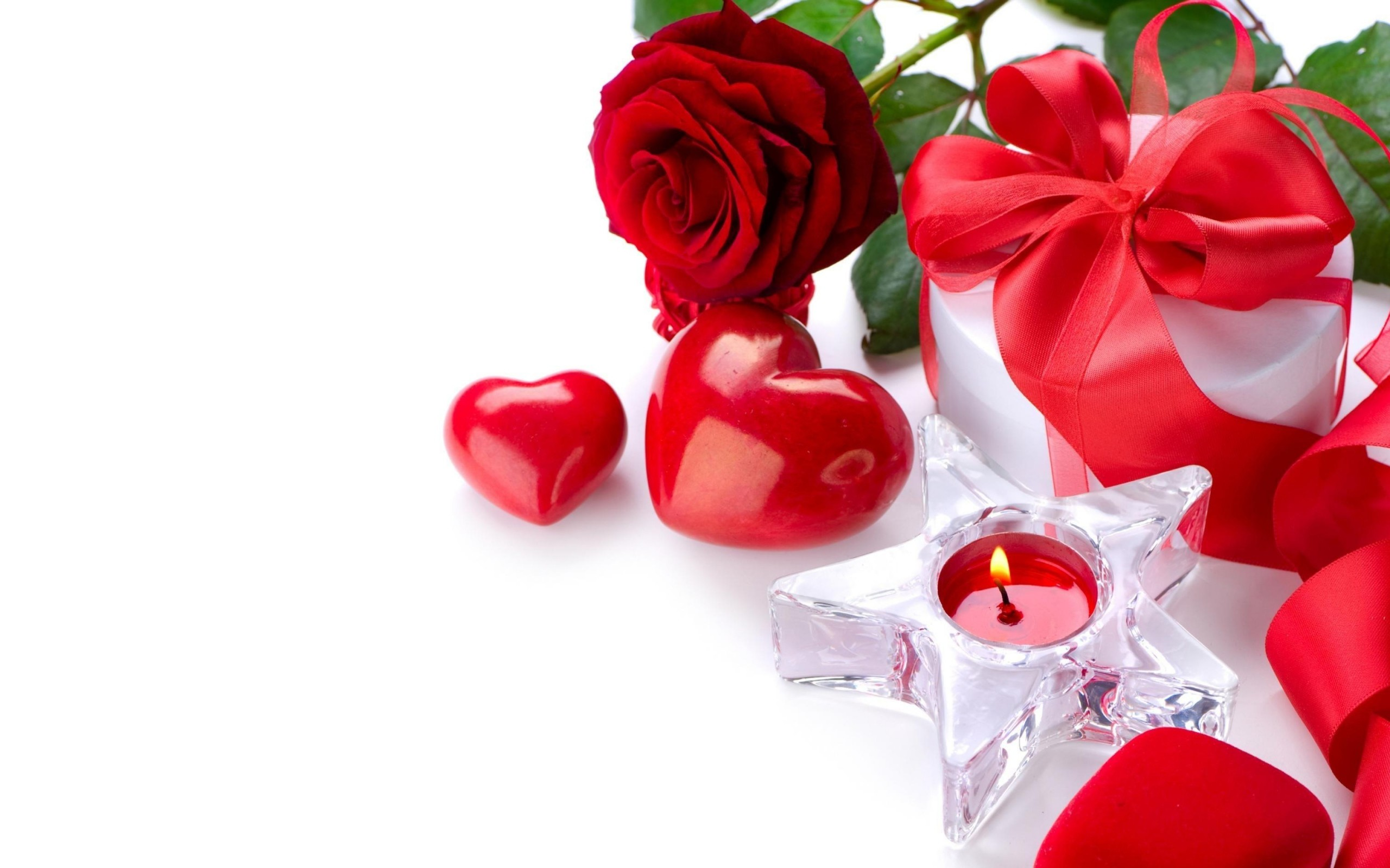 Red Roses And Hearts Wallpaper 45 Pictures