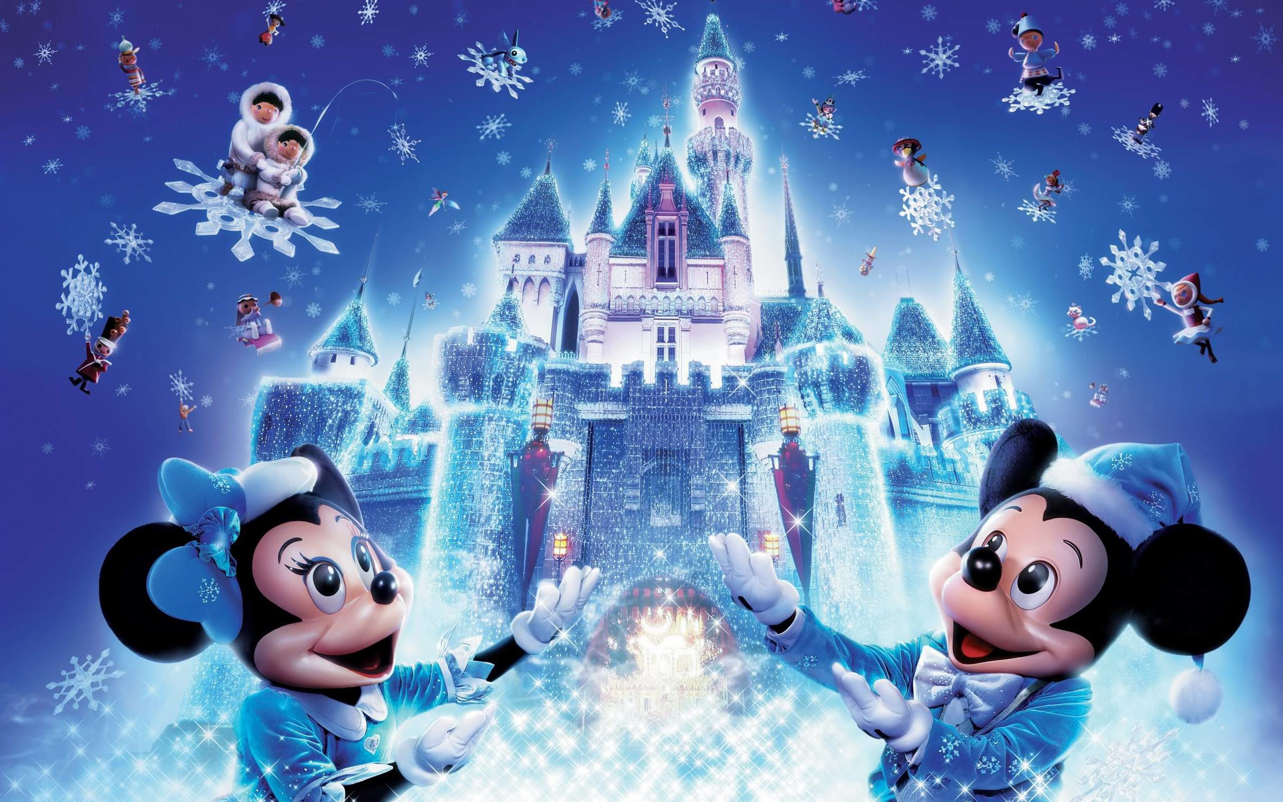 Free Christmas Wallpaper Backgrounds.Disney Christmas Wallpaper Backgrounds 58 Pictures