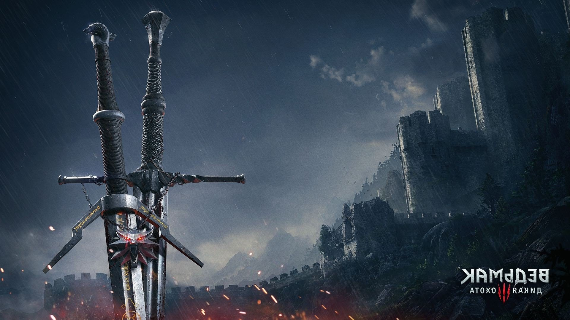 The Witcher 3 Sword 1920x1080