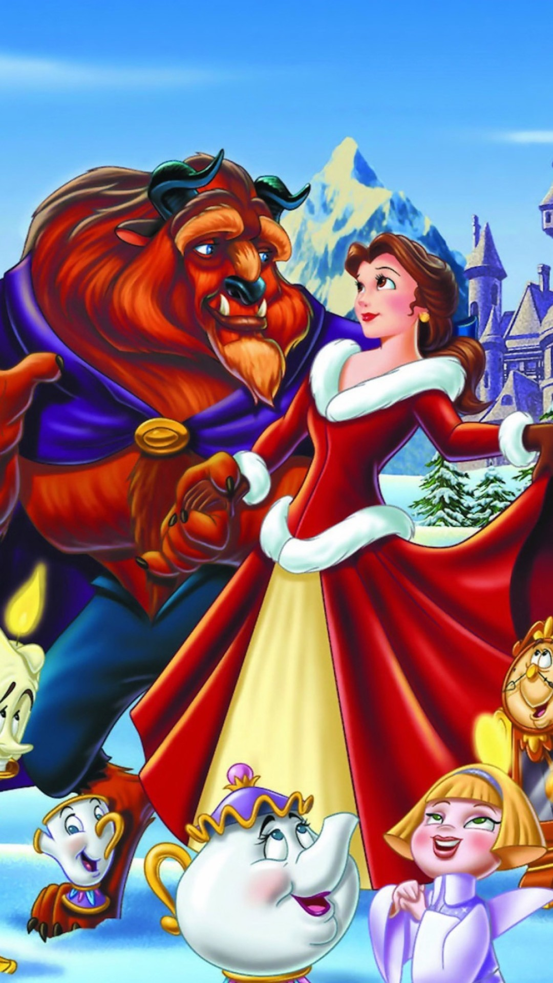 Disney Christmas Wallpaper Backgrounds (58+ pictures)