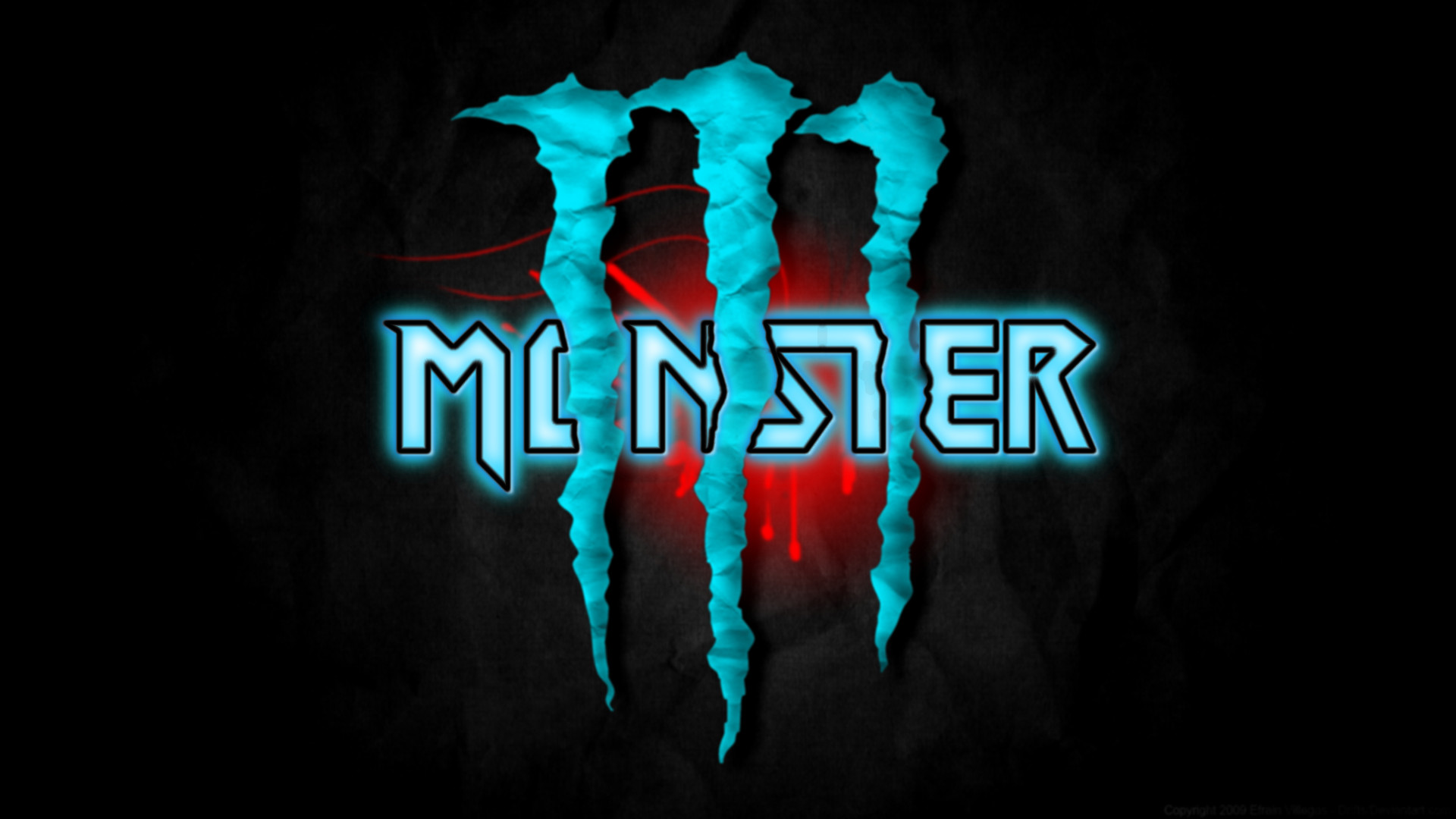 monster logo wide choice image wallpaper and free download