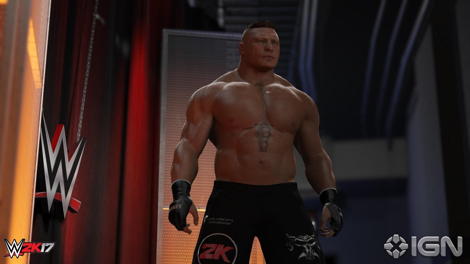 WWE 2K18 HD Wallpaper