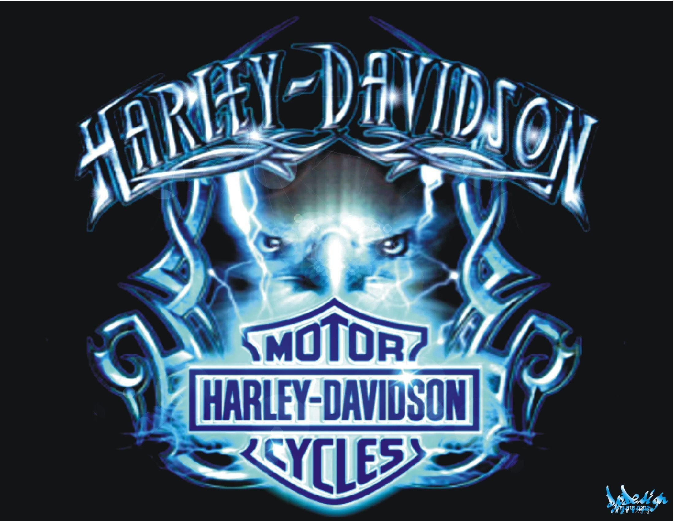 2199x1699 Wallpapers For Harley Davidson Logo With Flames Wallpaper