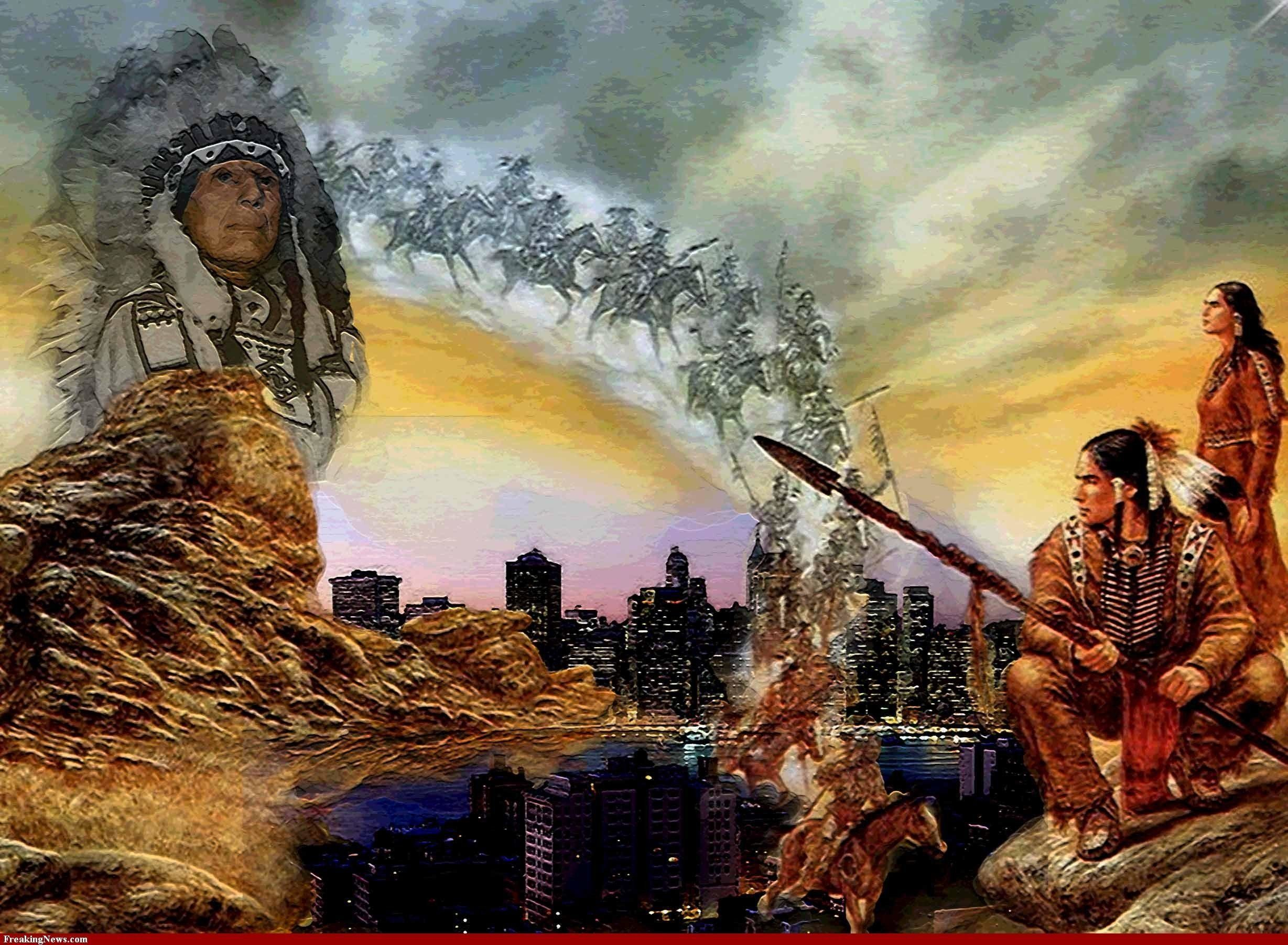 when the native american indians first Native american indians 246k likes native americans, also known as american indians, indians, indigenous americans and other terms, are the indigenous.