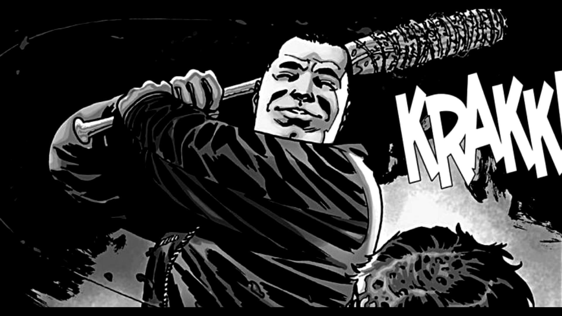 The Walking Dead Negan Wallpaper: Walking Dead Comic Wallpaper (66+ Pictures