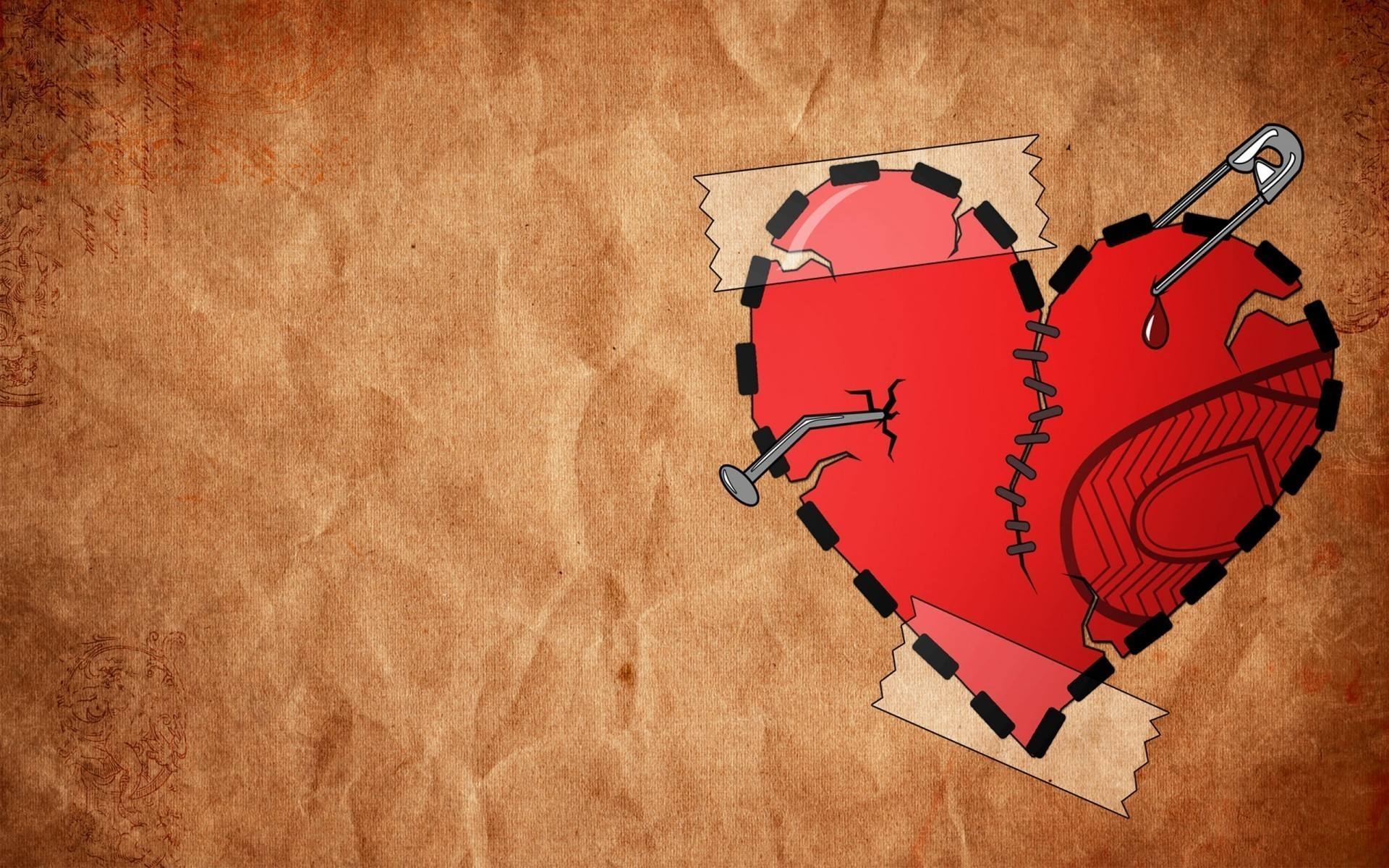 You Make Me Broken Heart Hd Free Wallpapers 1920x1080