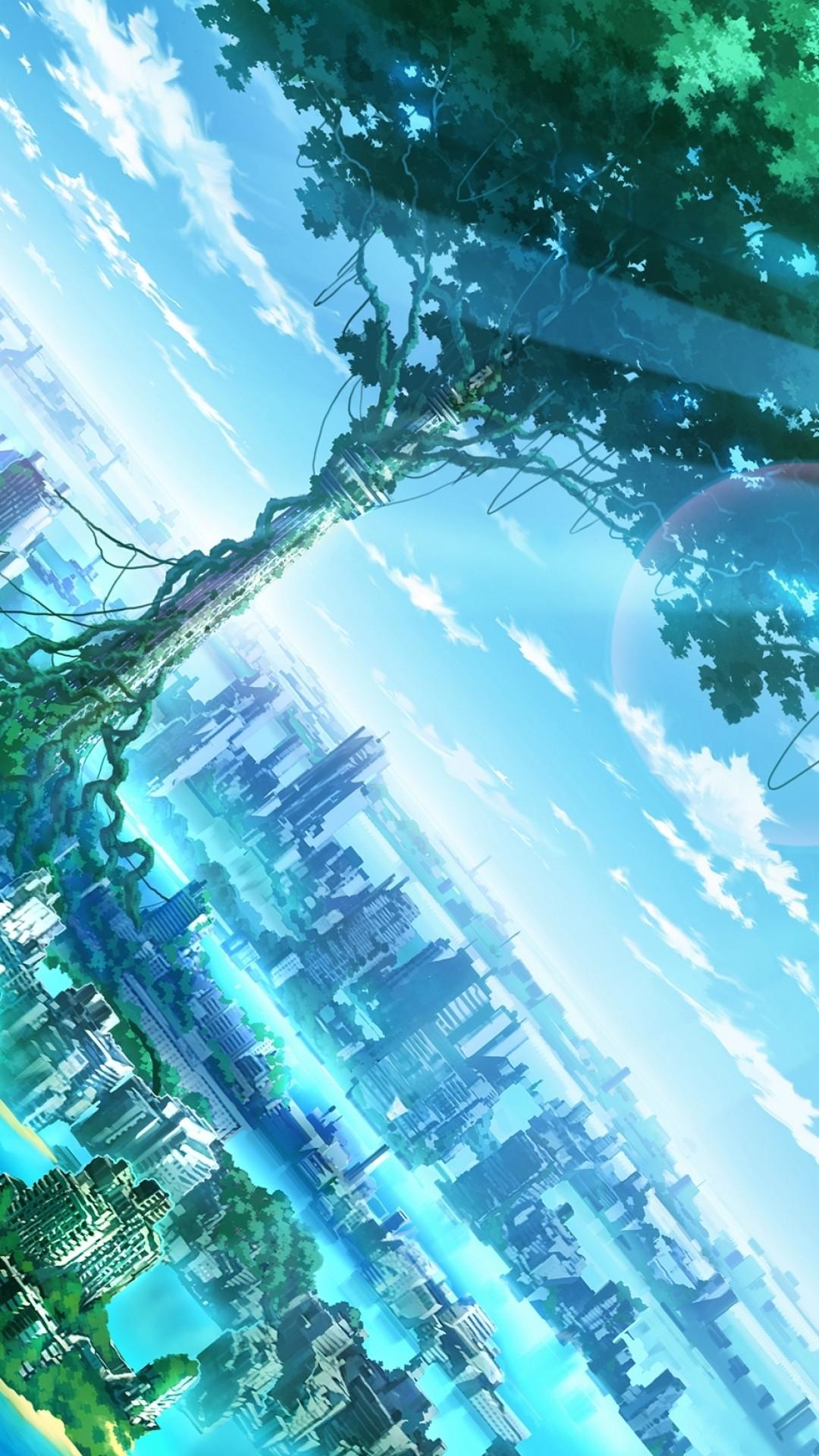 Anime landscape wallpapers 71 pictures - Portrait anime wallpaper ...