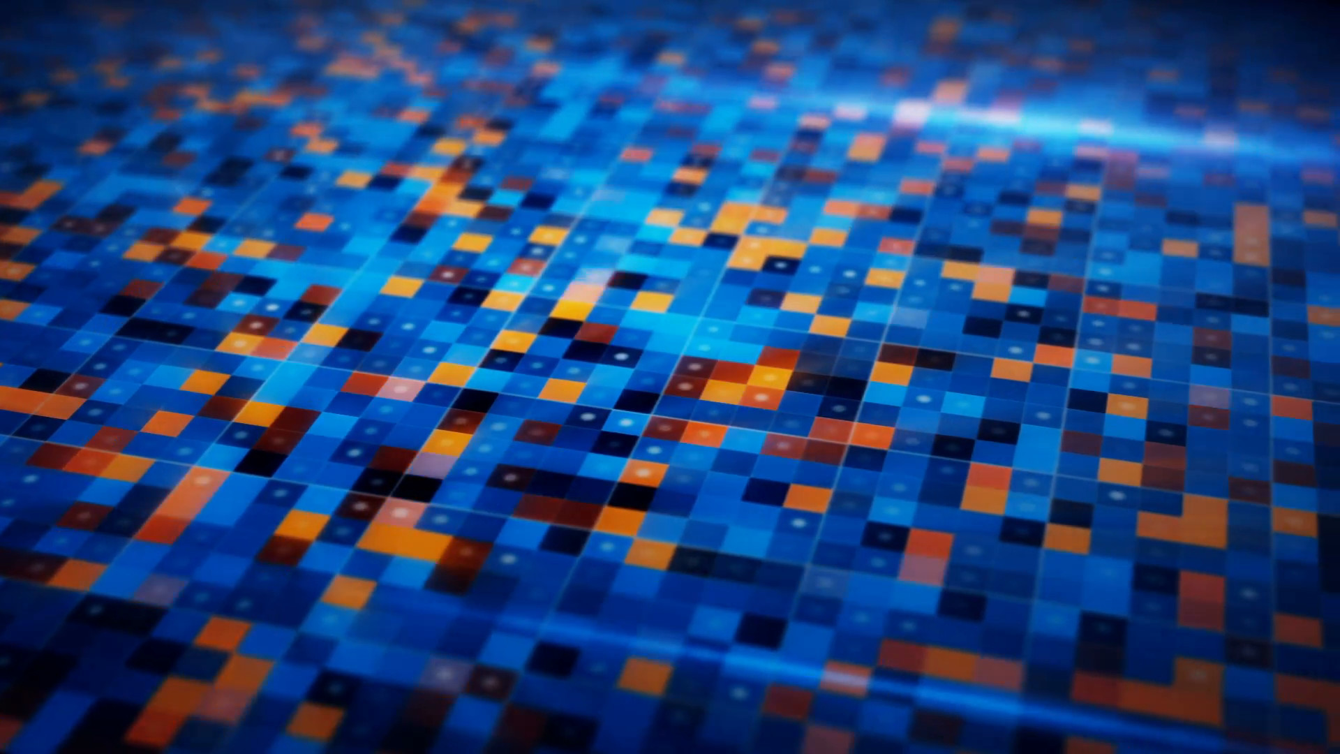 Blue Techno Wallpaper