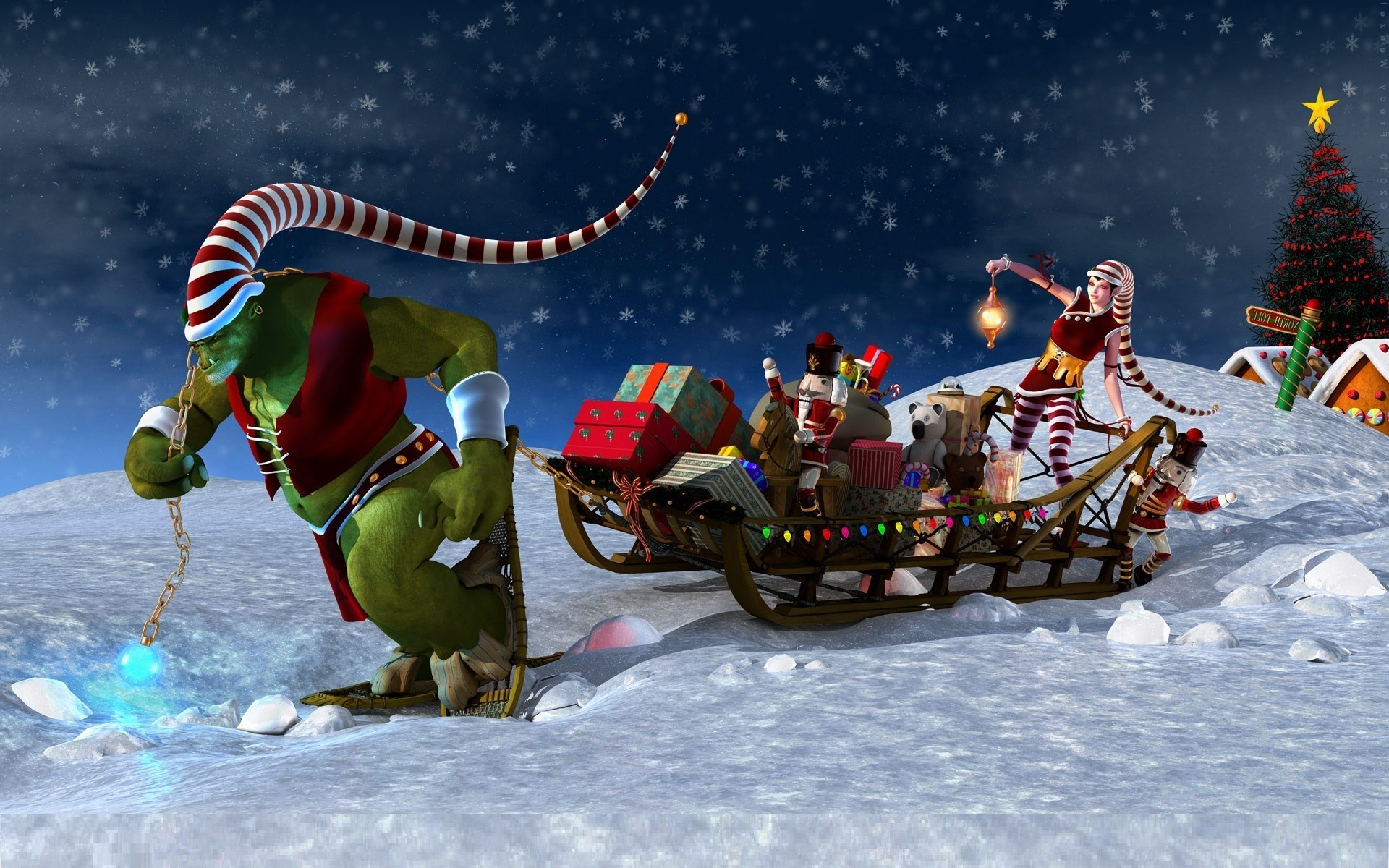 wallpaper details - Free Animated Christmas Screensavers