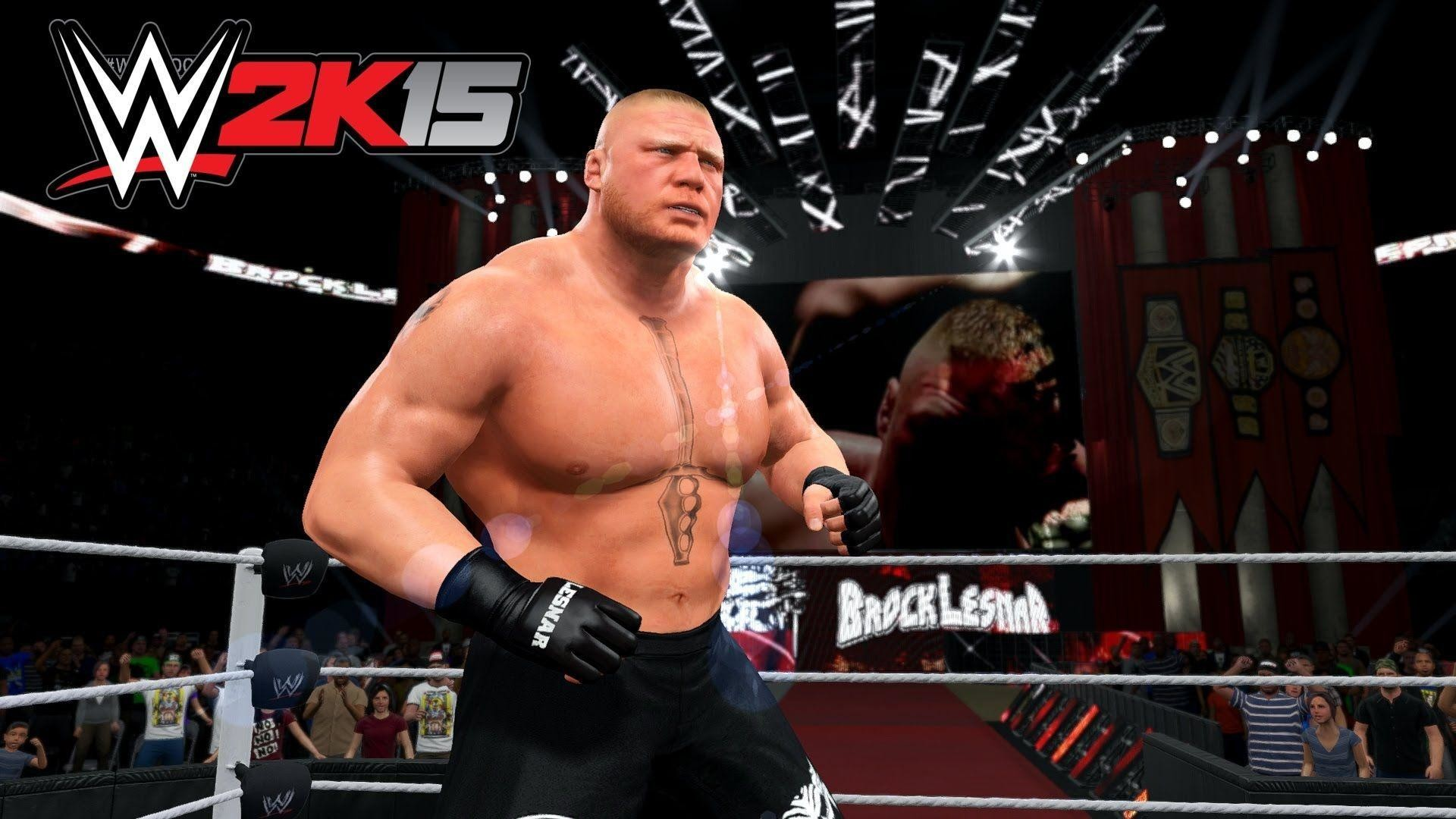 1920x1080 WWE 2K18 Brock Lesnar Wallpaper A Cover